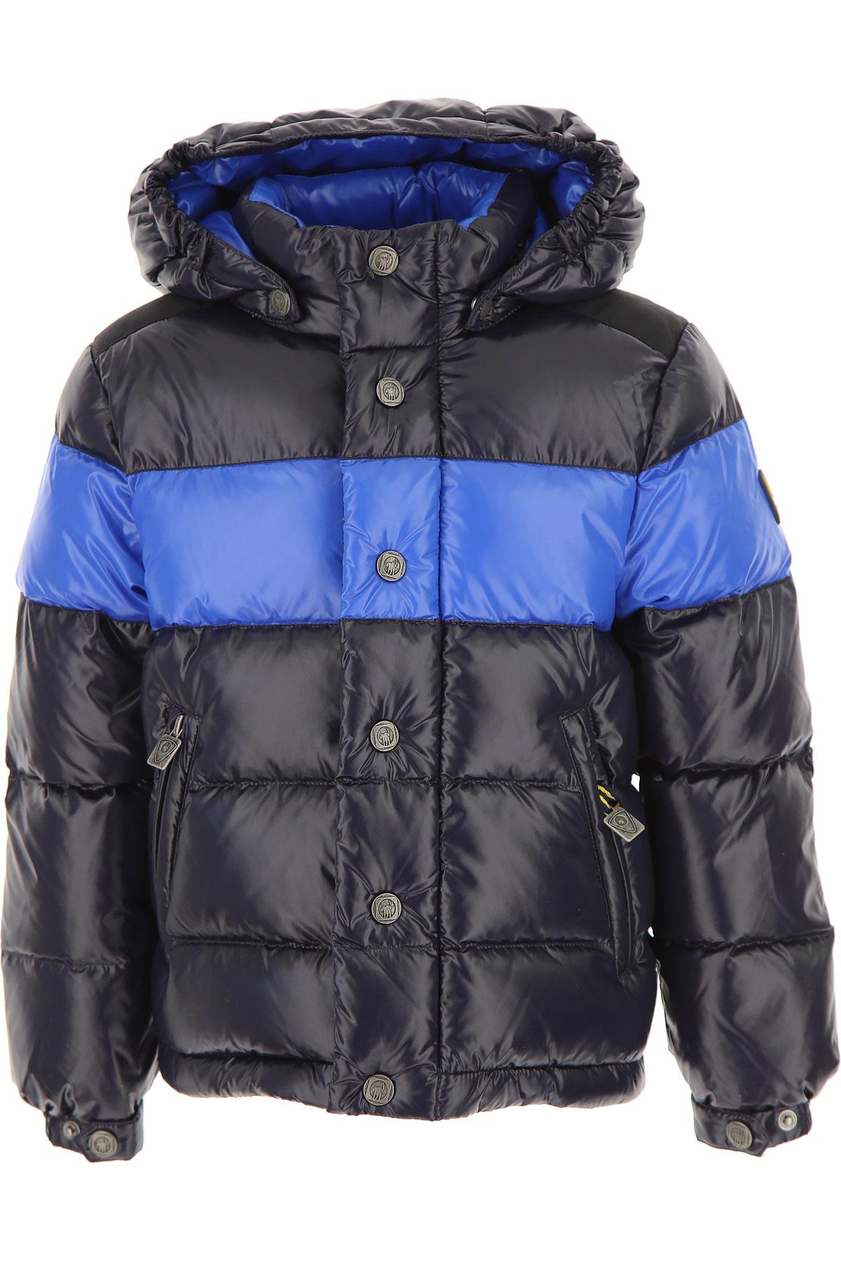 Ciesse Piumini Boys Down Jacket for Kids, Puffer Ski Jacket On Sale, navy, polyamide, 2019, 4Y 8Y