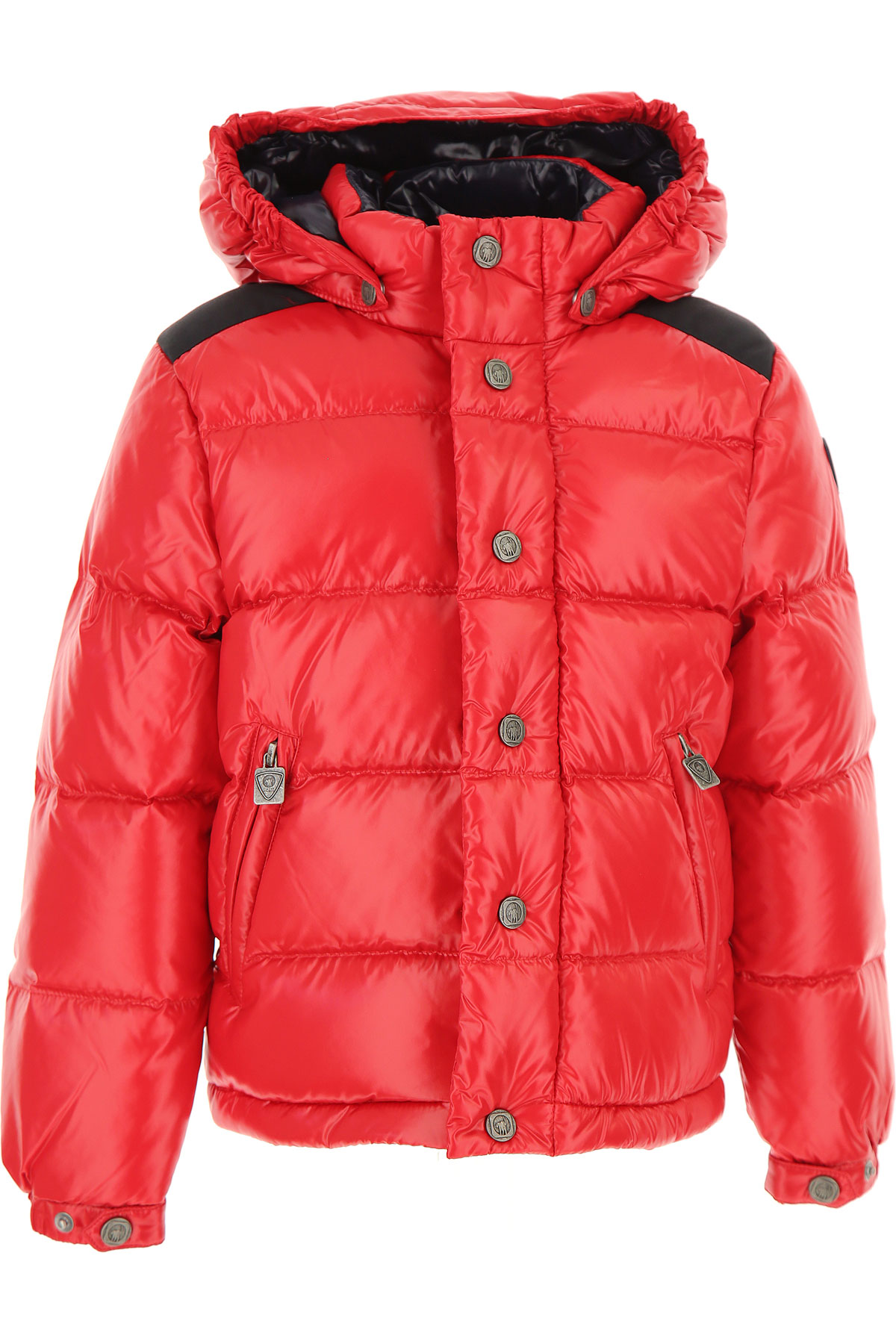 Ciesse Piumini Boys Down Jacket for Kids, Puffer Ski Jacket On Sale, Red, polyamide, 2019, 4Y 8Y