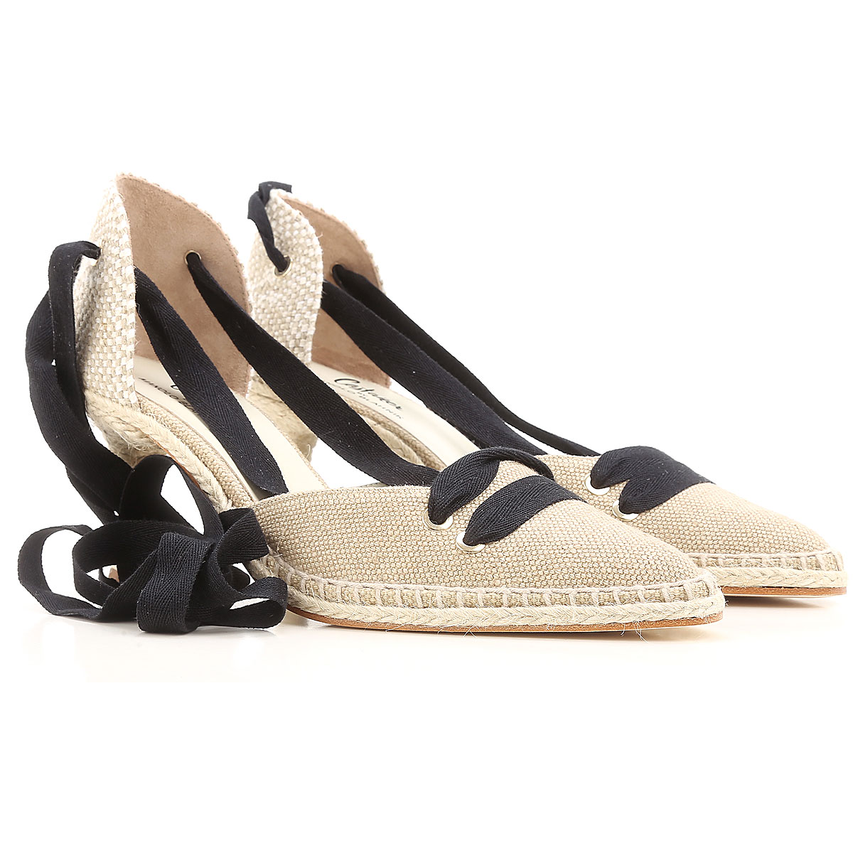 Castaner Sandals for Women On Sale in Outlet, By Manolo Blahnik, Rope, Fabric, 2019, 5 6 7