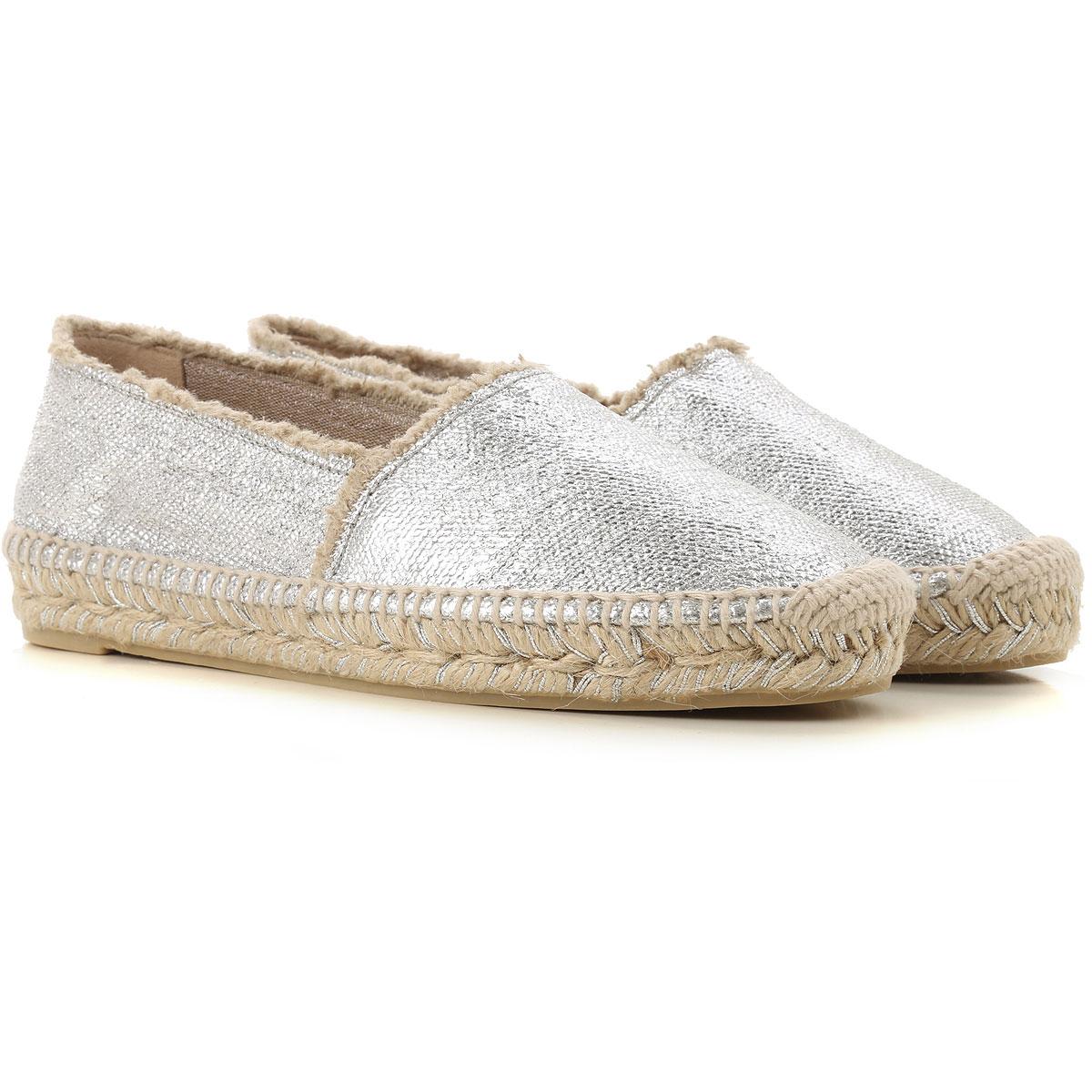 Castaner Slip on Sneakers for Women, Silver, Patent, 2017, 10 11 5 6 7 8 9
