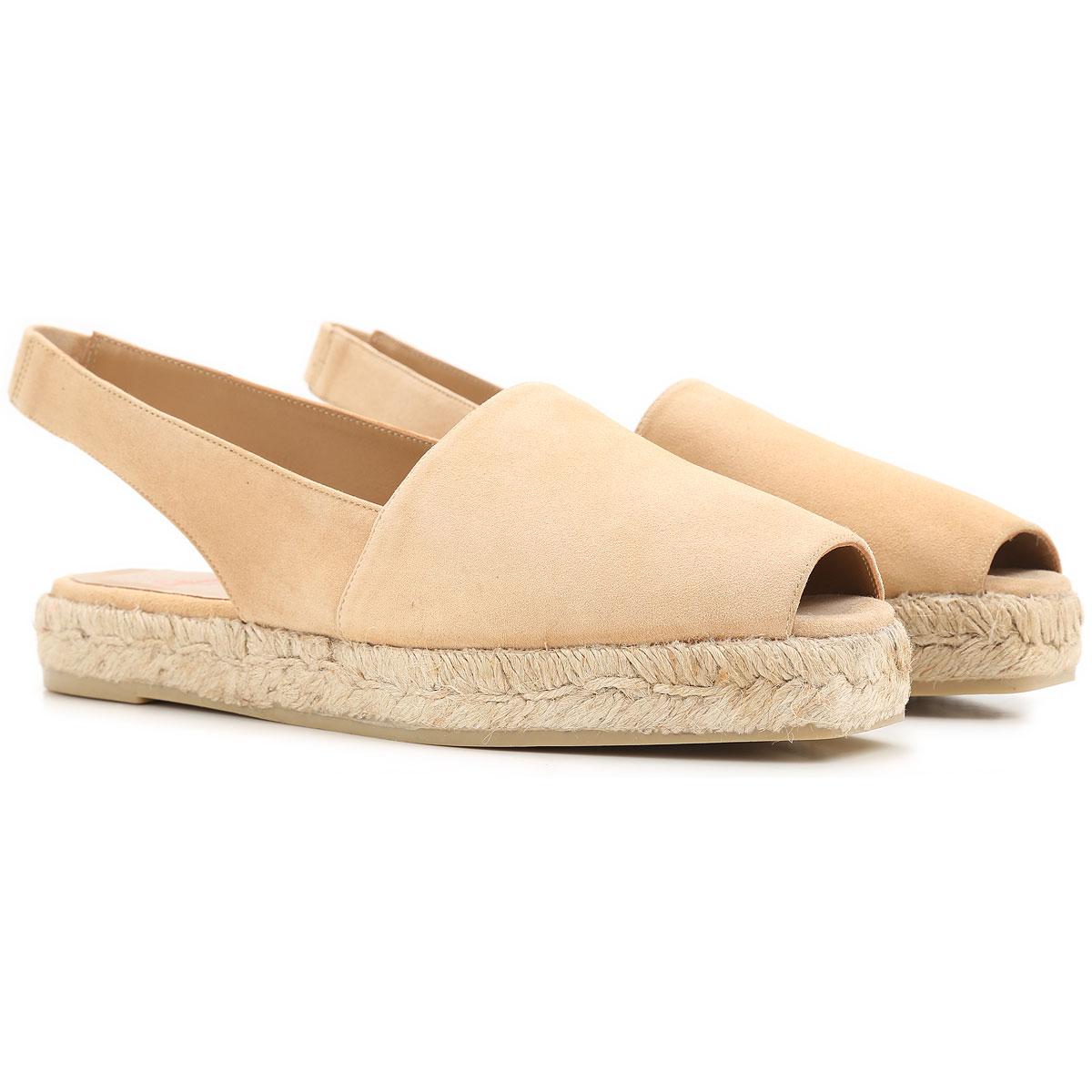 Castaner Slip on Sneakers for Women On Sale in Outlet, Beige, suede, 2017, 11 6 9