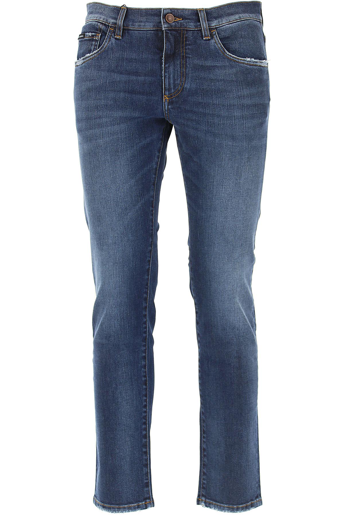 Dolce & Gabbana Jeans, Denim Blue, Cotton, 2017, 28 30 32 34 36 38