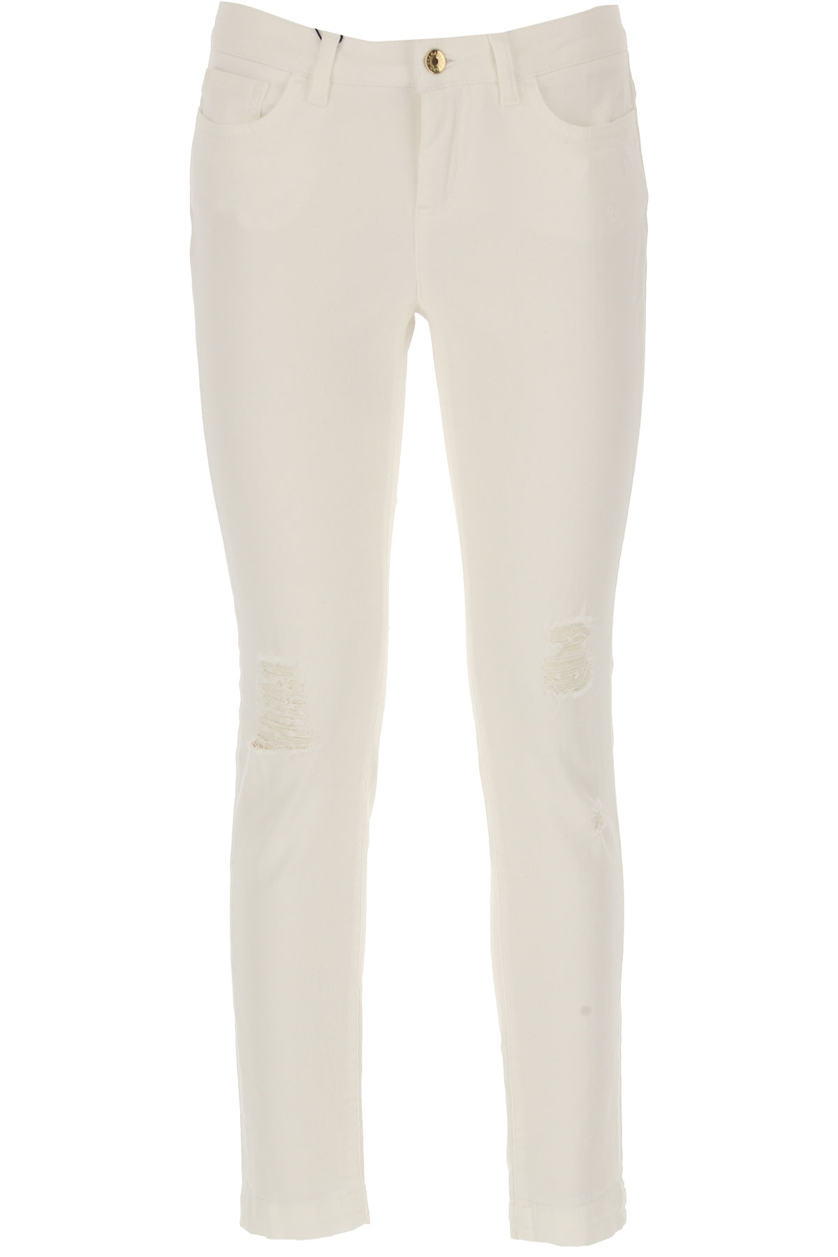 Dolce & Gabbana Jeans, White, Cotton, 2017, 24 26