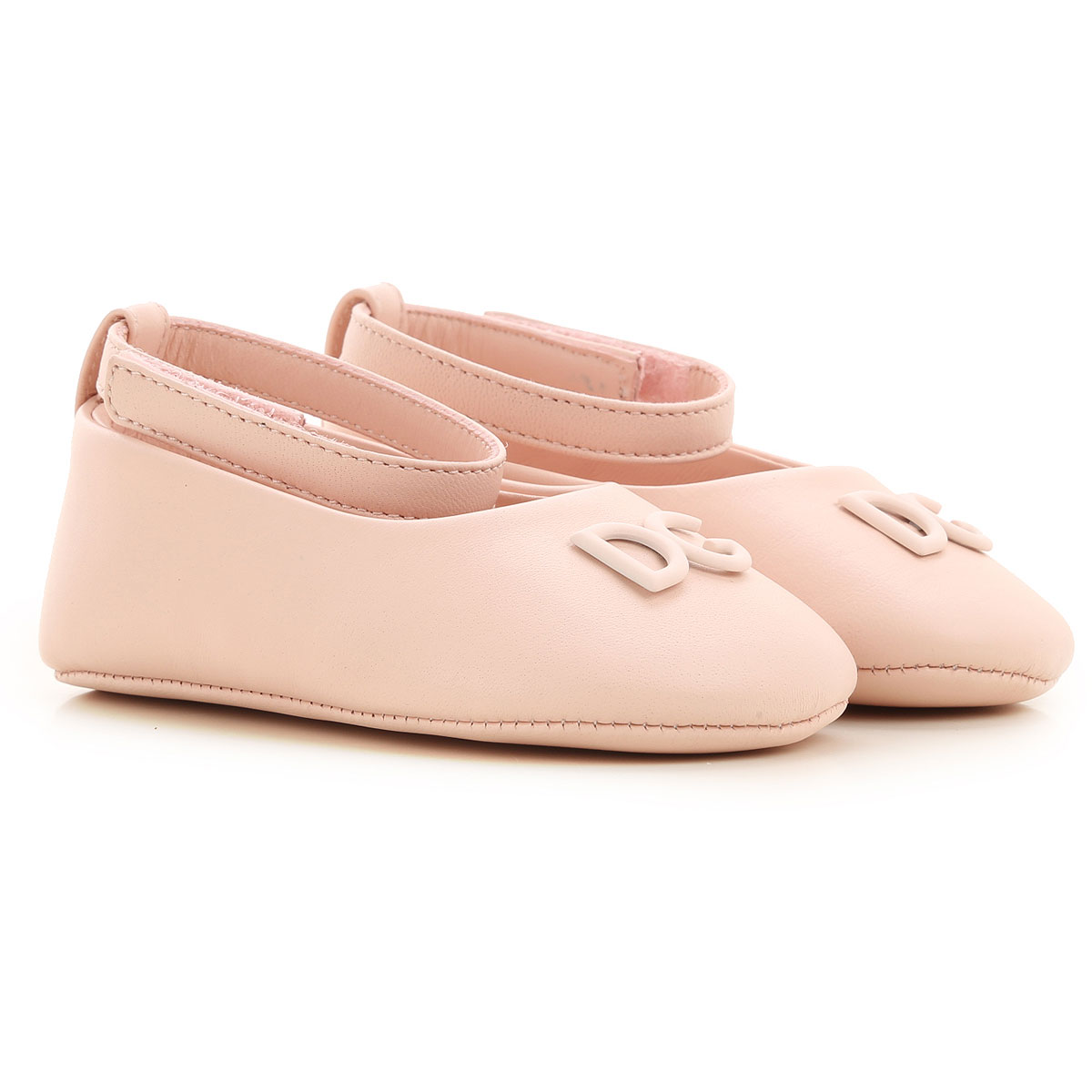 Dolce & Gabbana Baby Shoes for Girls On Sale, Pink, Lamb Leather, 2019, 2.5C 3.5C 4.5C