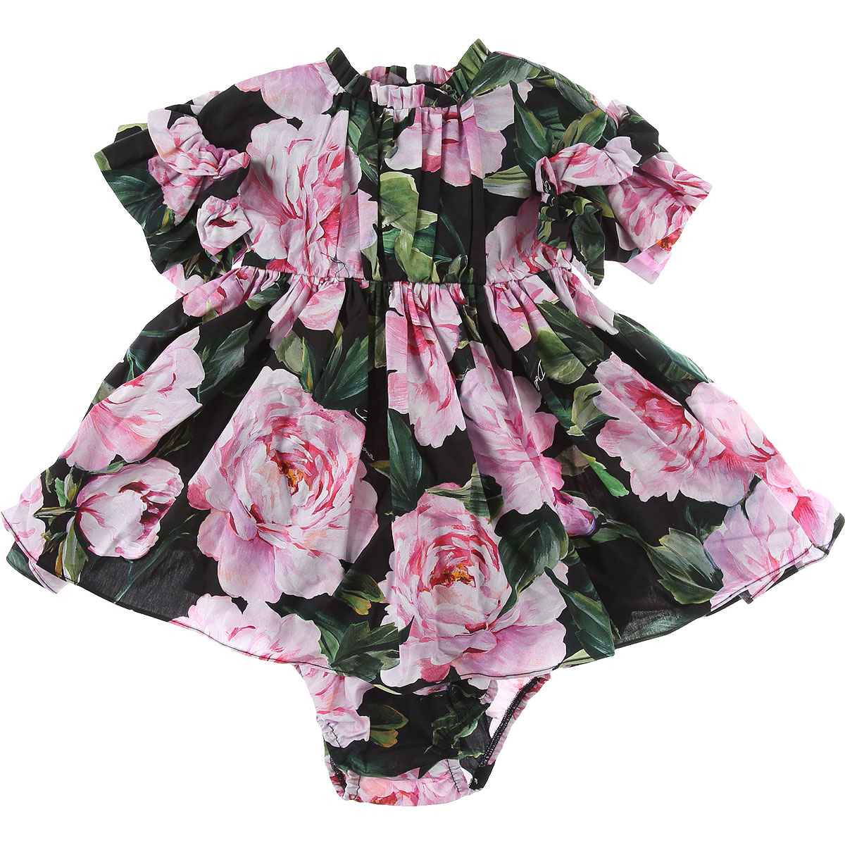 Dolce & Gabbana Baby Dress for Girls On Sale in Outlet, Pink, Cotton, 2019, 12M 18M 24M 9M
