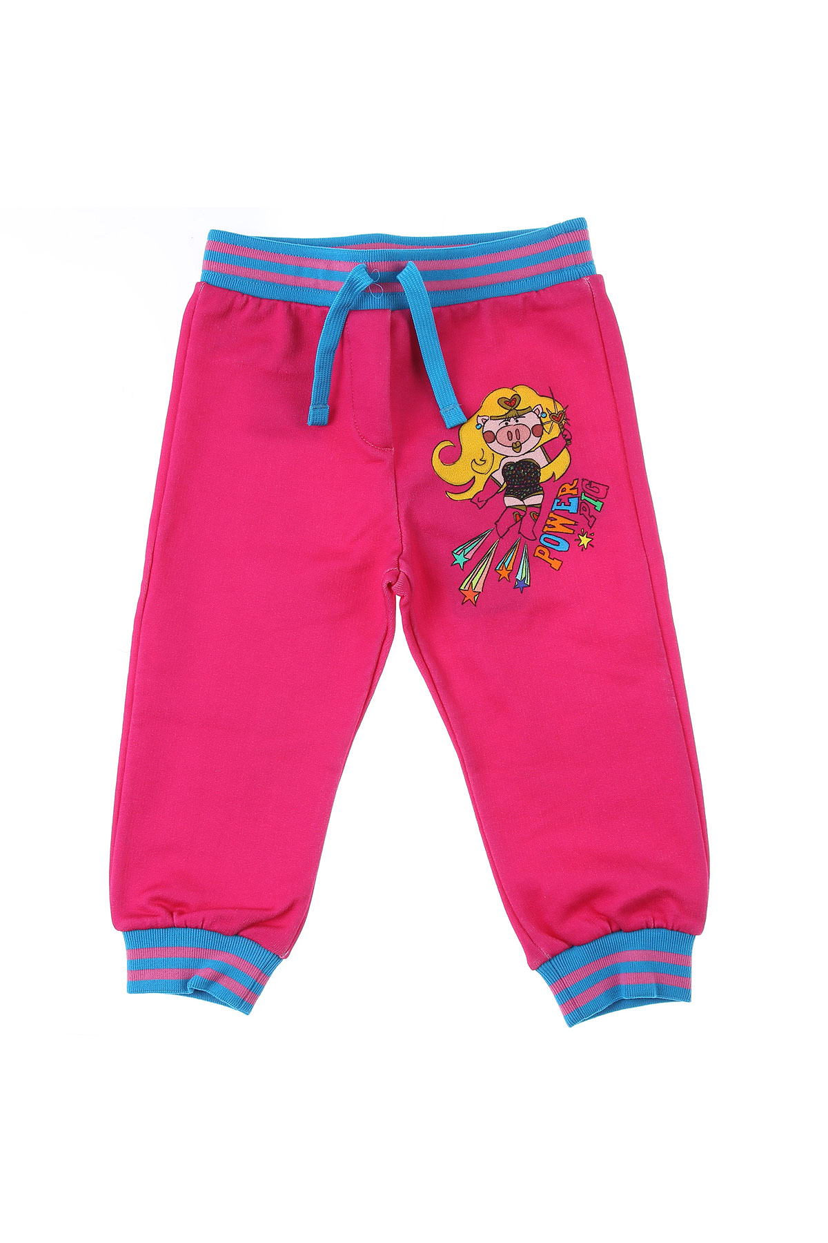 Dolce & Gabbana Baby Pants for Girls On Sale in Outlet, Fuchsia, Cotton, 2019, 12M 18M 24M 30M