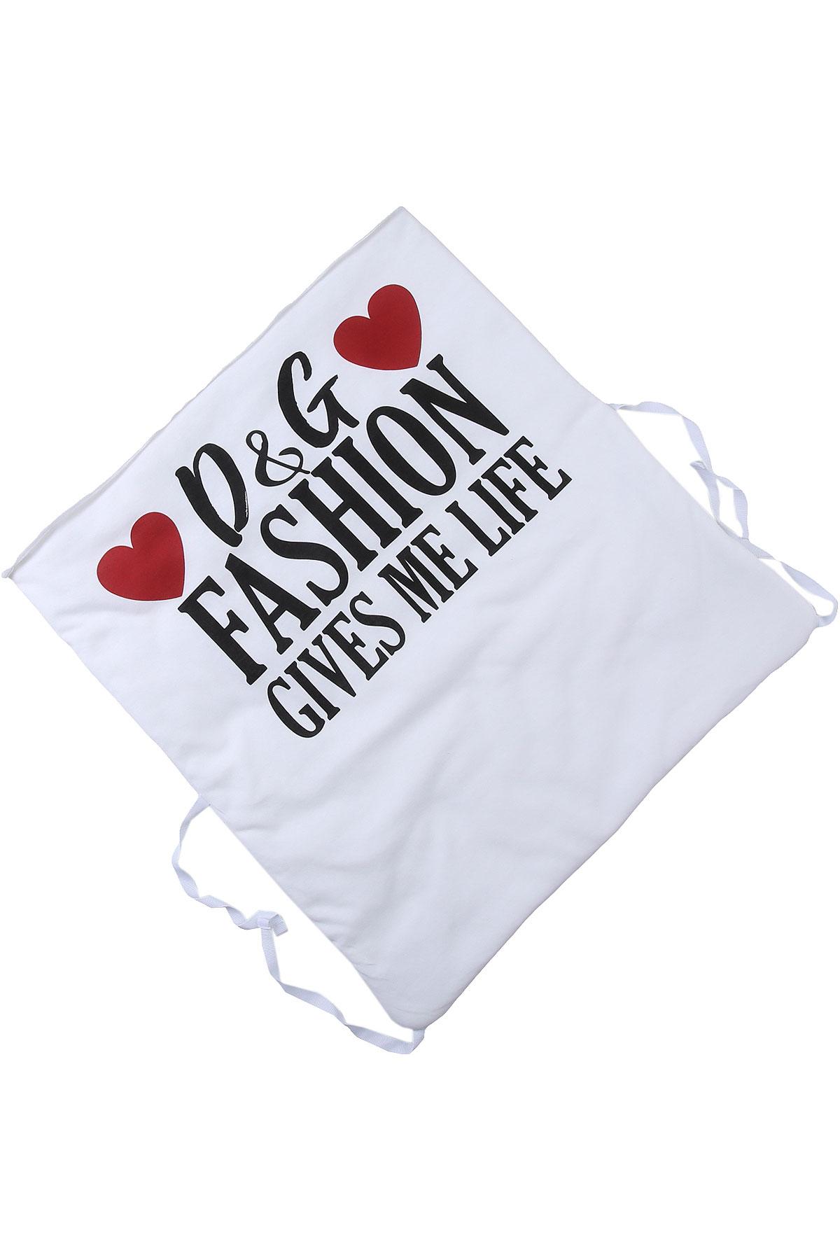 Dolce & Gabbana Baby Bodysuits & Onesies for Girls On Sale, White, Cotton, 2019