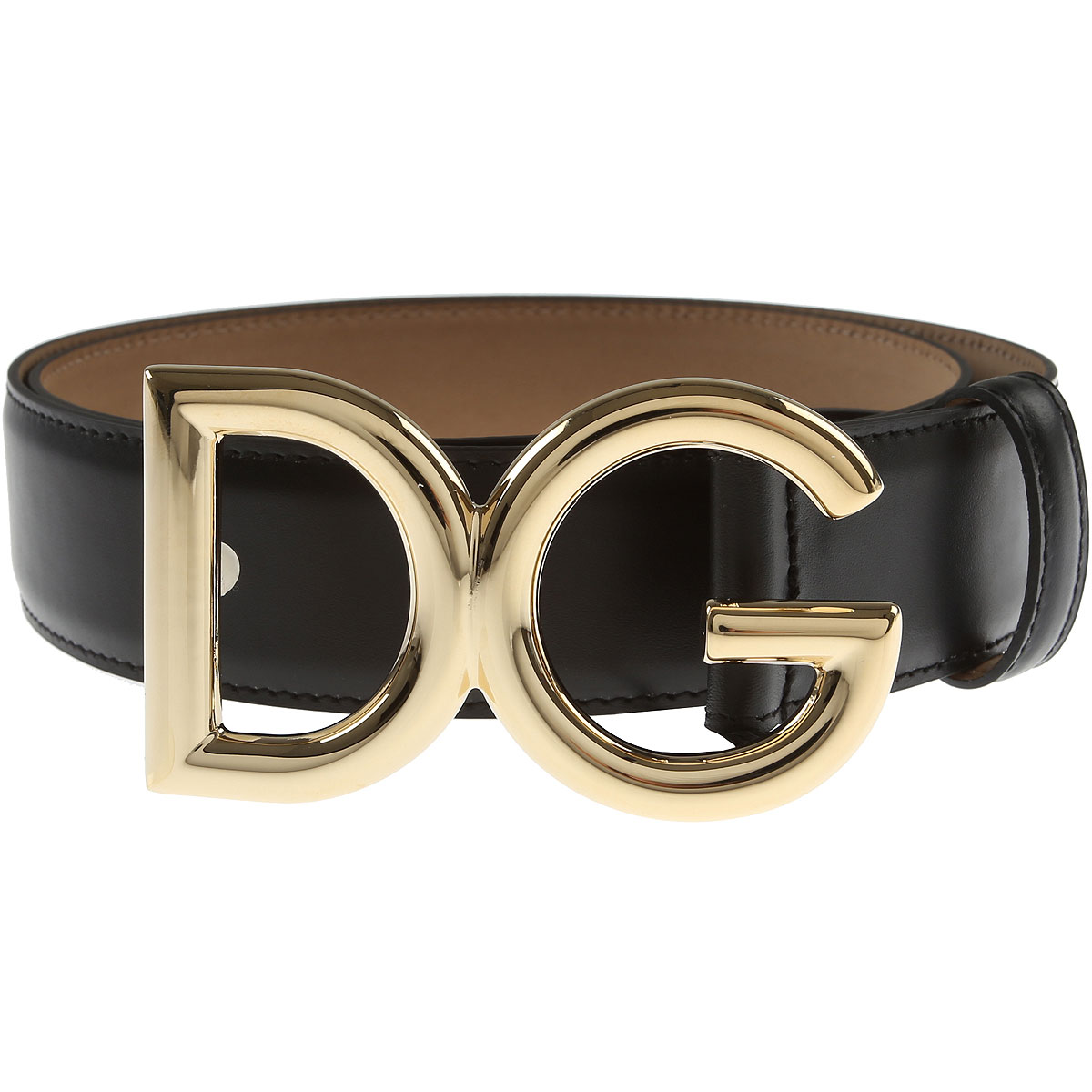 Dolce & Gabbana Womens Belts, Black, Leather, 2017, 30 inches - 75 cm 32 inches - 80 cm 34 inches - 85 cm 36 inches - 90 cm 38 inches - 95 cm