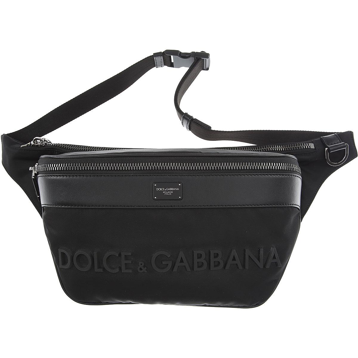 Dolce & Gabbana Shoulder Bags, Black, Nylon, 2017