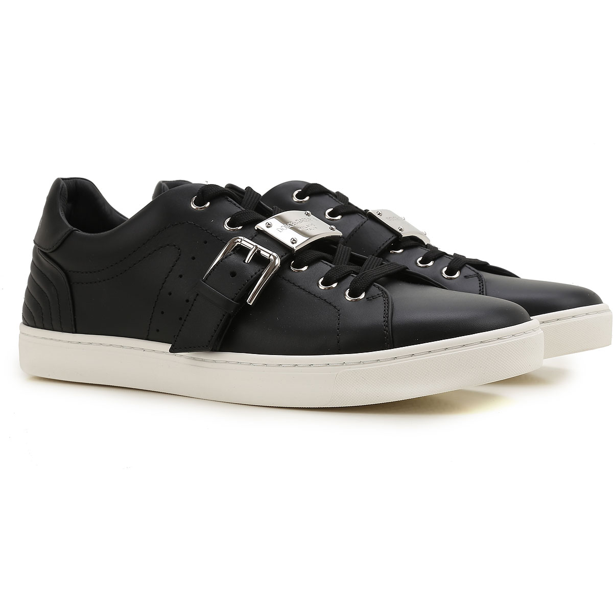 Sneakers for Men On Sale in Outlet, White, Leather, 2017, 5.5 6.75 8 Saint Laurent