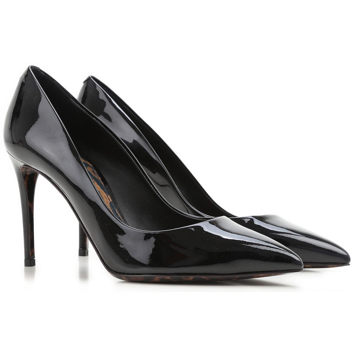 Dolce & Gabbana Pumps & High Heels moterims , juodi, Patent oda, 2019, 36 36.5 38.5