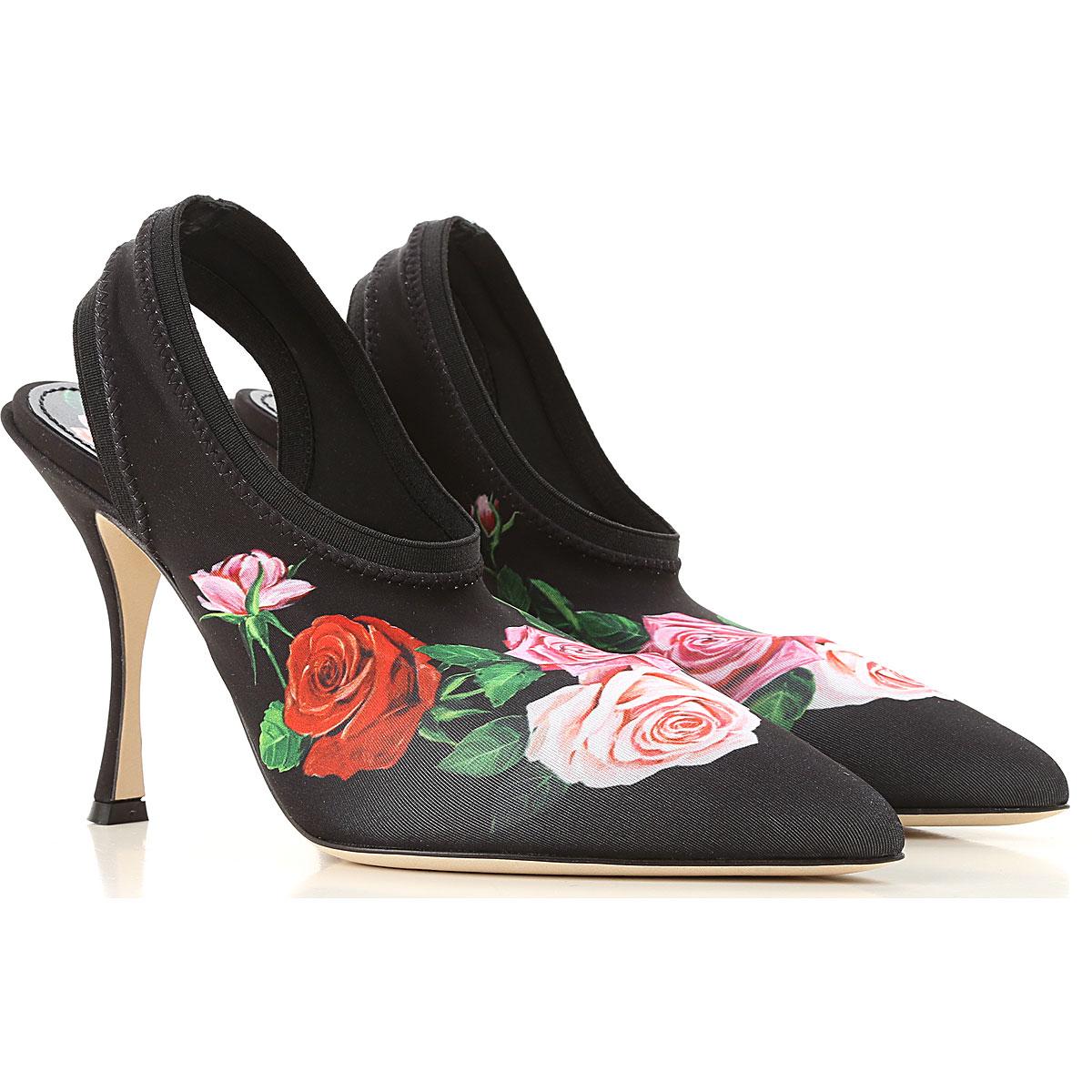 Dolce & Gabbana Pumps & High Heels moterims  in Outlet, juodi, Elastane, 2019, 36 37.5 39
