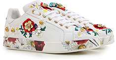Dolce & Gabbana Womens Shoes - PORTOFINO SNEAKER - Not Set - CLICK FOR MORE DETAILS