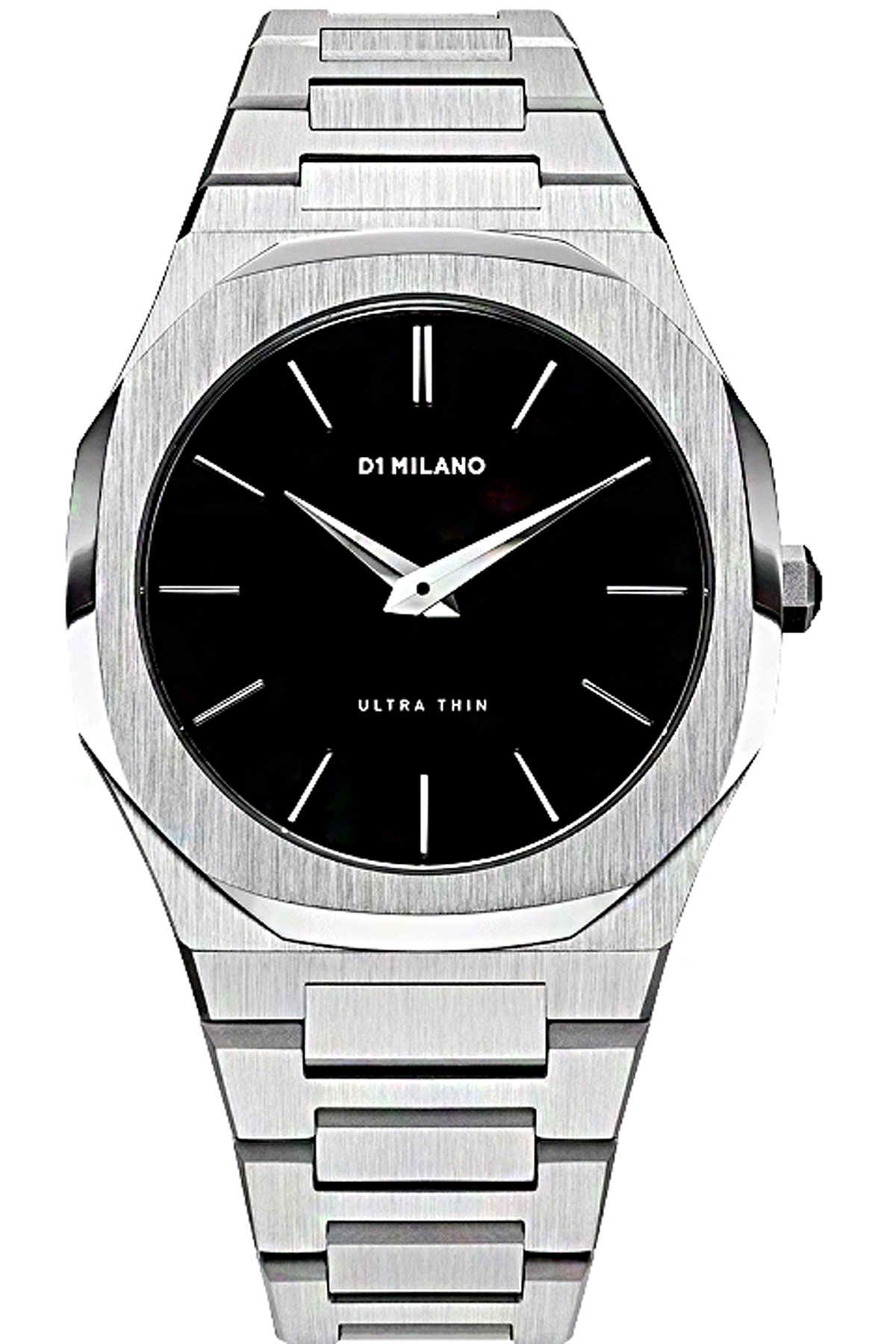 D1 Milano Watch for Men, Silver, Stainless Steel, 2019