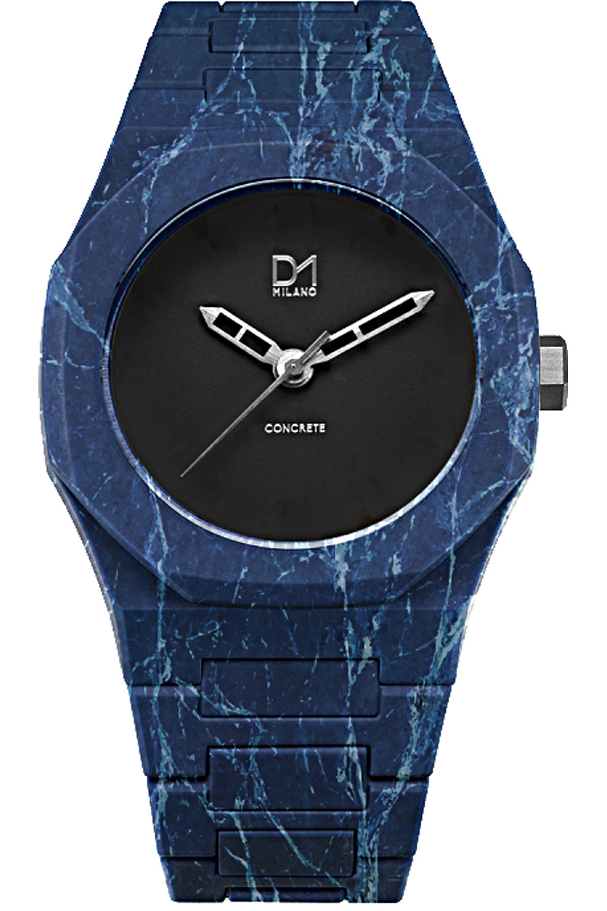 D1 Milano Watch for Men, Blue, Polycarbonate, 2019