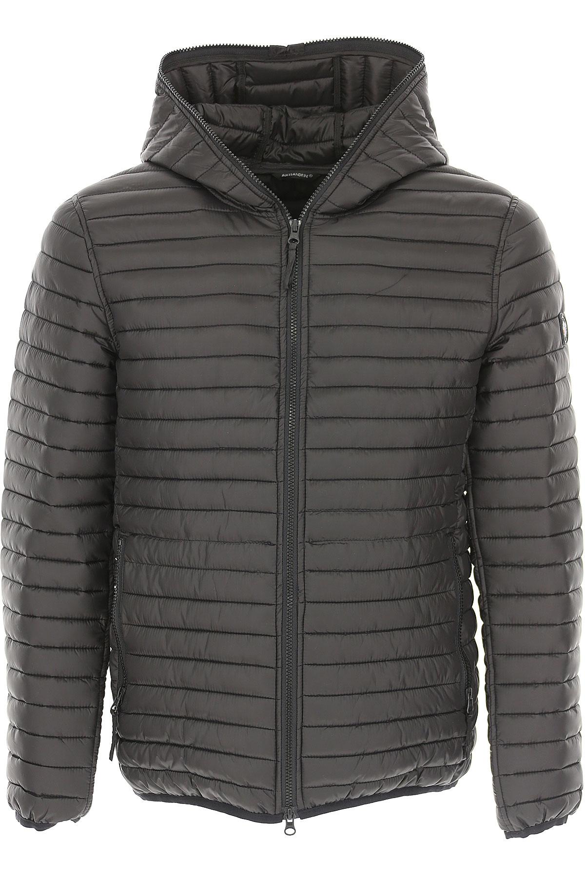 Image of Daniele Alessandrini Jacket for Men, Black, polyester, 2017, L M S
