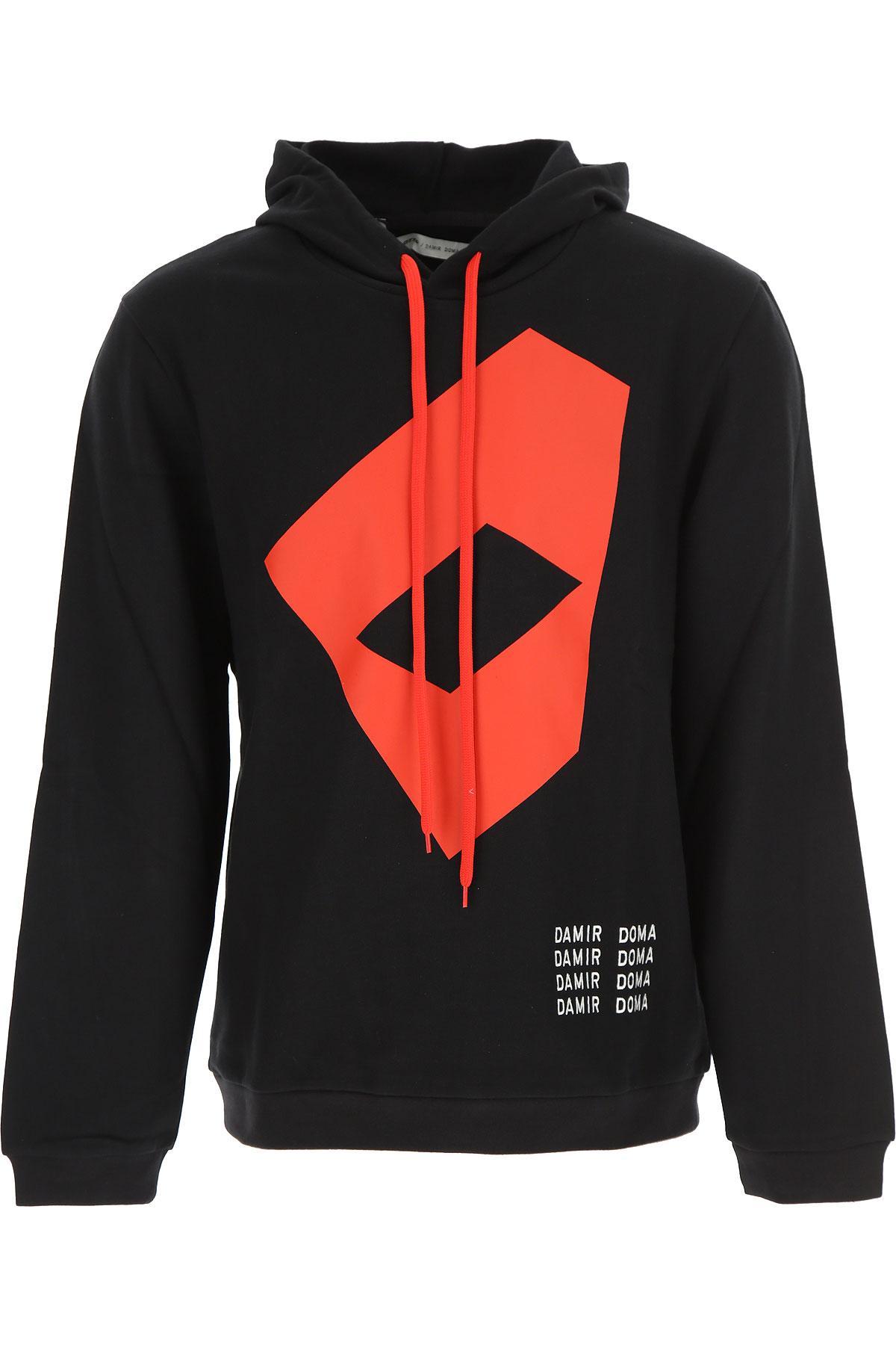 Image of Damir Doma Sweatshirt for Men, Black, Cotton, 2017, L M S XL XS