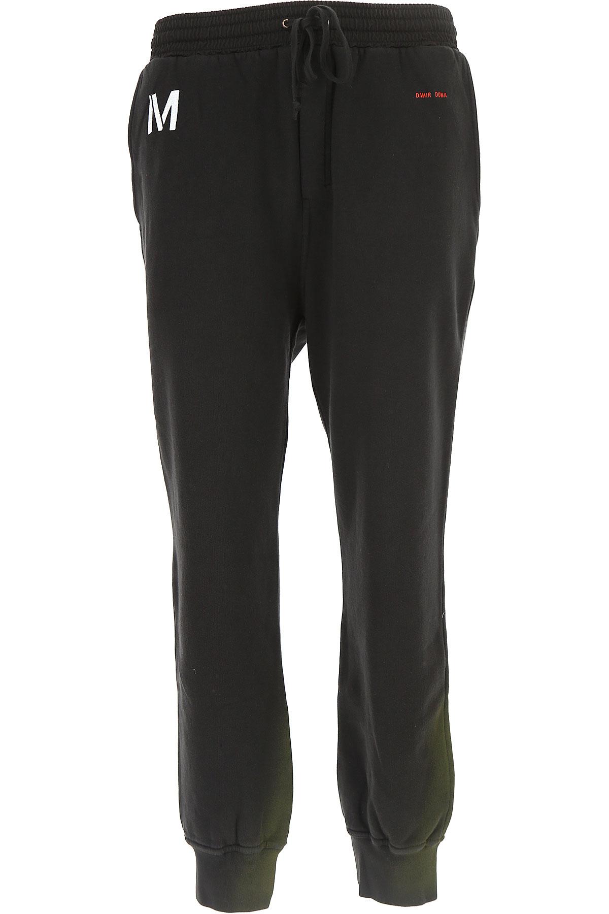 Image of Damir Doma Sweatpants, Black, Cotton, 2017, L M S XS