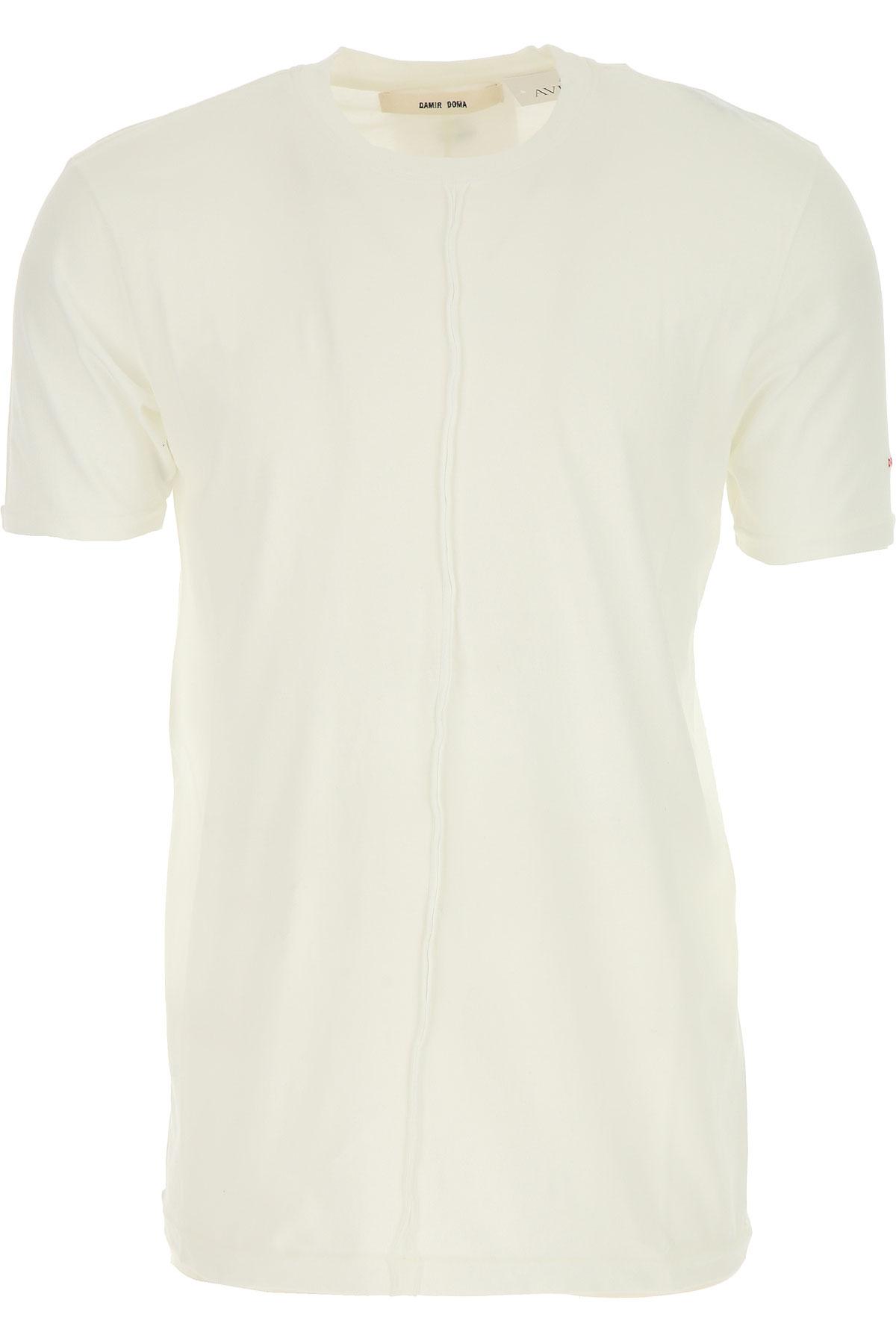 Image of Damir Doma T-Shirt for Men, White, Cotton, 2017, L M S XL