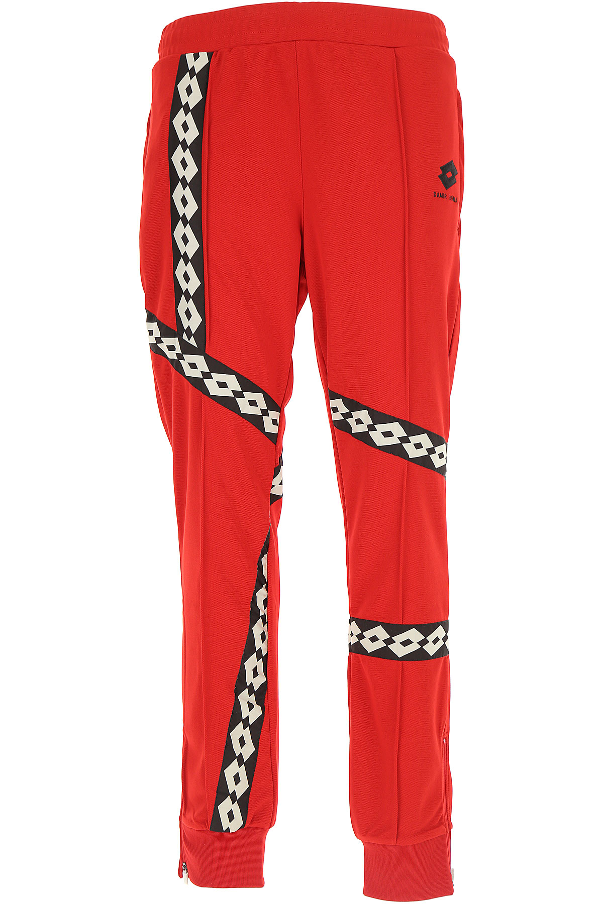 Image of Damir Doma Sweatpants, Red, polyester, 2017, L M S