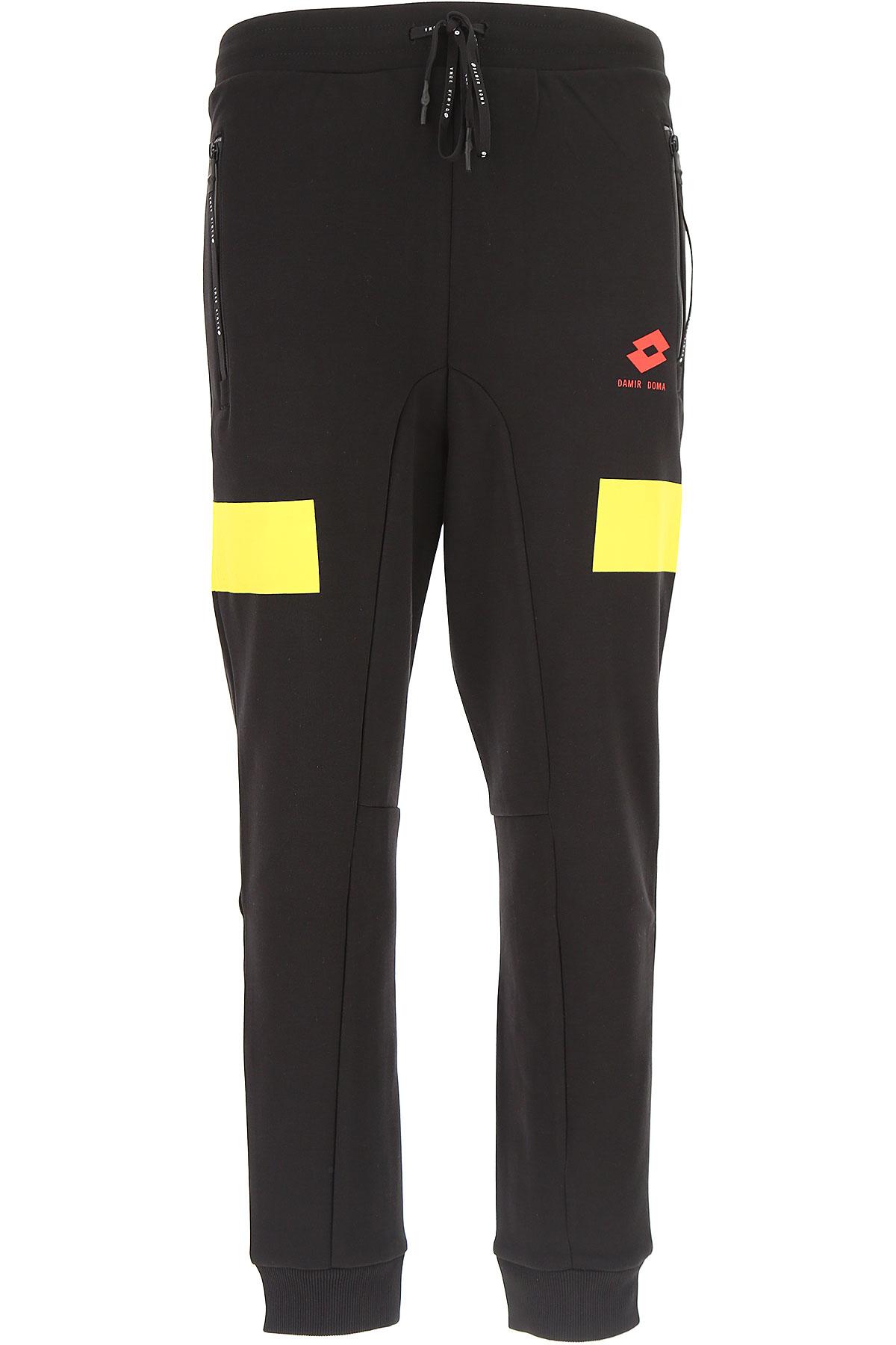 Image of Damir Doma Sweatpants, Black, Cotton, 2017, L M S XL