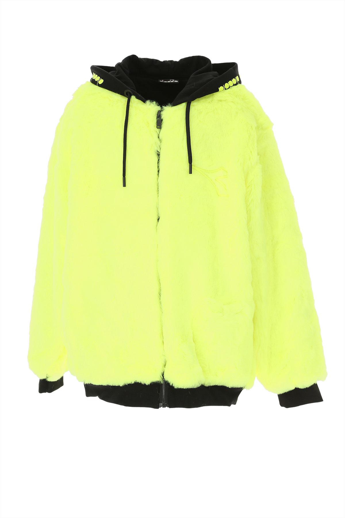 Diadora Kids Sweatshirts & Hoodies for Girls On Sale, Black, polyester, 2019, 10Y 12Y 14Y