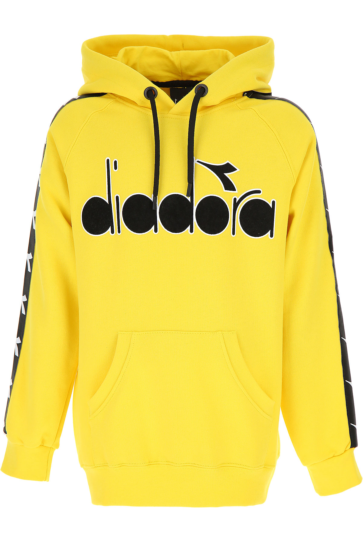 Image of Diadora Kids Sweatshirts & Hoodies for Boys, Yellow, Cotton, 2017, 10Y 14Y 8Y