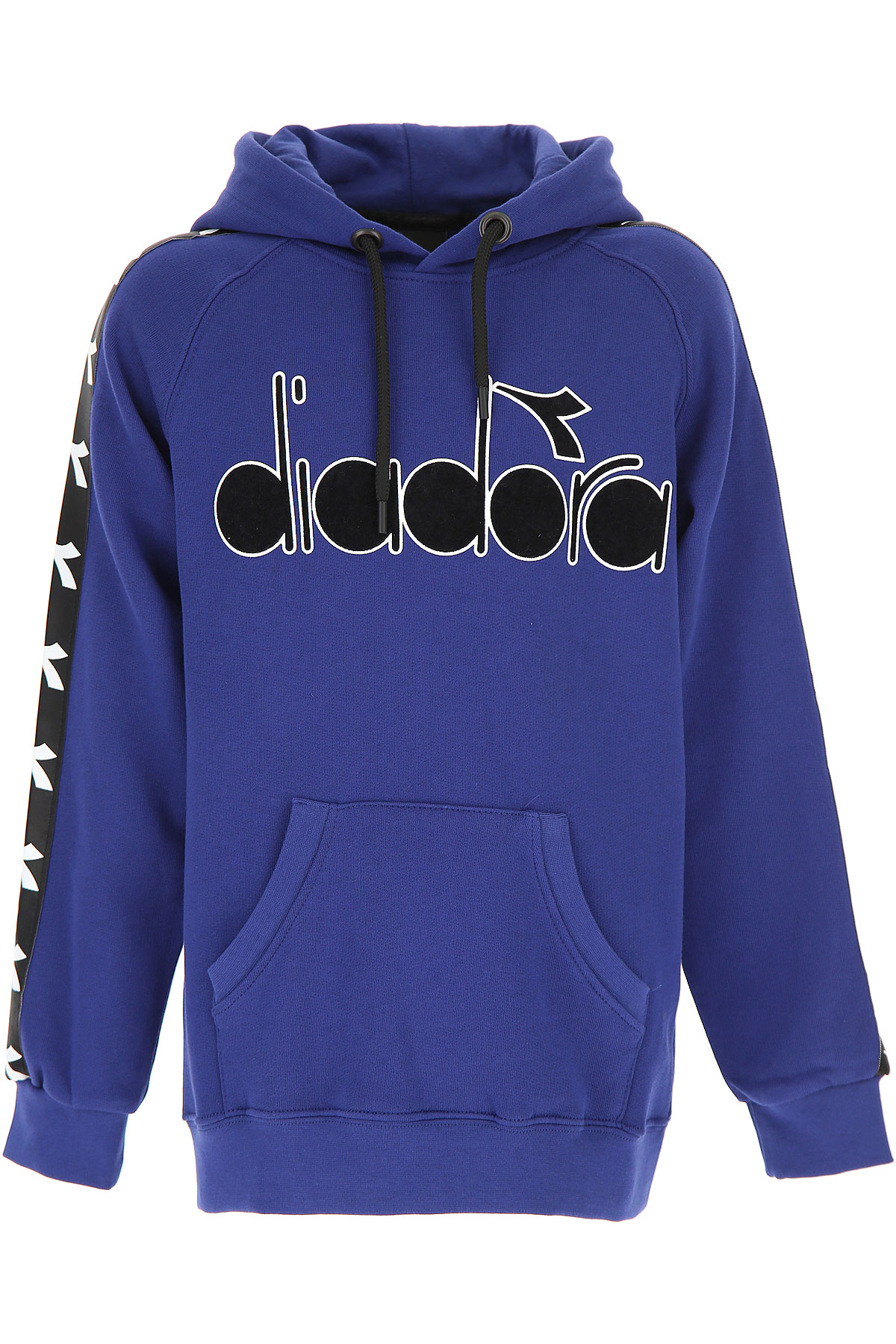 Image of Diadora Kids Sweatshirts & Hoodies for Boys, Blue, Cotton, 2017, 10Y 14Y 8Y