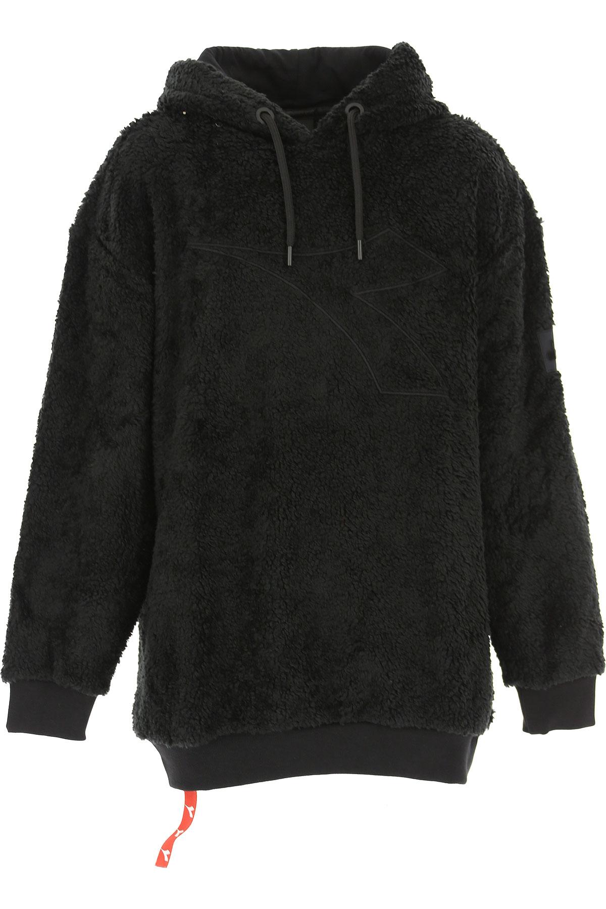 Diadora Kids Sweatshirts & Hoodies for Boys On Sale, Black, Acrylic, 2019, 10Y 12Y 14Y