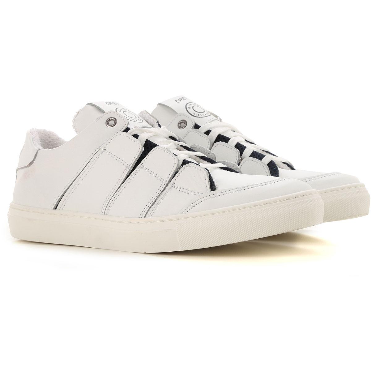Daniele Alessandrini Sneaker Homme, Blanc, Cuir, 2017, 40 41 42 43 44