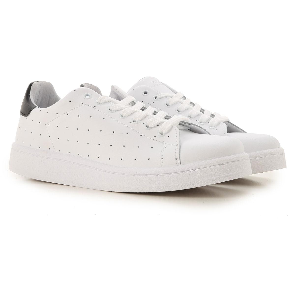 Daniele Alessandrini Sneaker Homme, Blanc, Cuir, 2017, 40 41 42 43