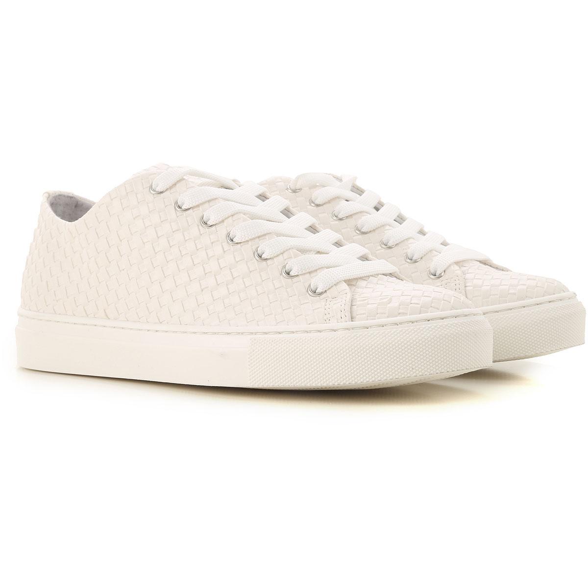 Daniele Alessandrini Sneaker Homme, Blanc, Cuir, 2017, 40 41 42