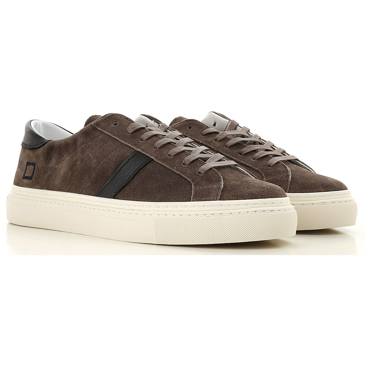 Image of D.A.T.E. Sneakers for Men, Mud, suede, 2017, US 7 - EU 40 - UK 6 - JP 26 US 8 - EU 41 - UK 7 - JP 26.5 US 9 - EU 42 - UK 8 - JP 27 US 10 - EU 43 - UK 9 - JP 27.5 US 11 - EU 44 - UK 10 - JP 28