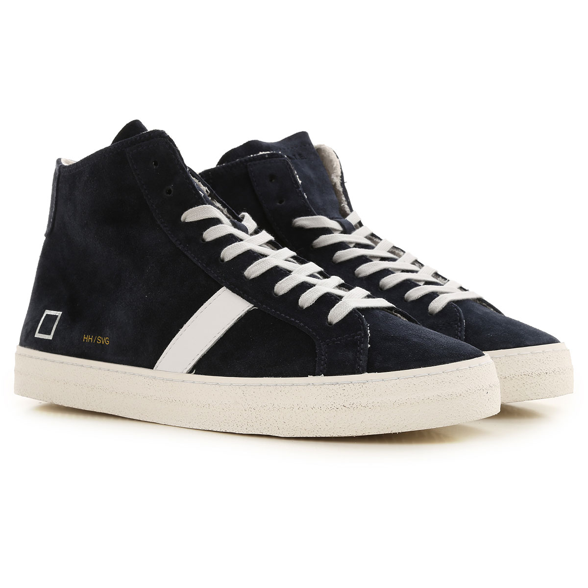 D.A.T.E. Sneakers for Men, Black, Suede leather, 2019, US 9 - EU 42 - UK 8 - JP 27 US 10 - EU 43 - UK 9 - JP 27.5 US 11 - EU 44 - UK 10 - JP 28 US 12