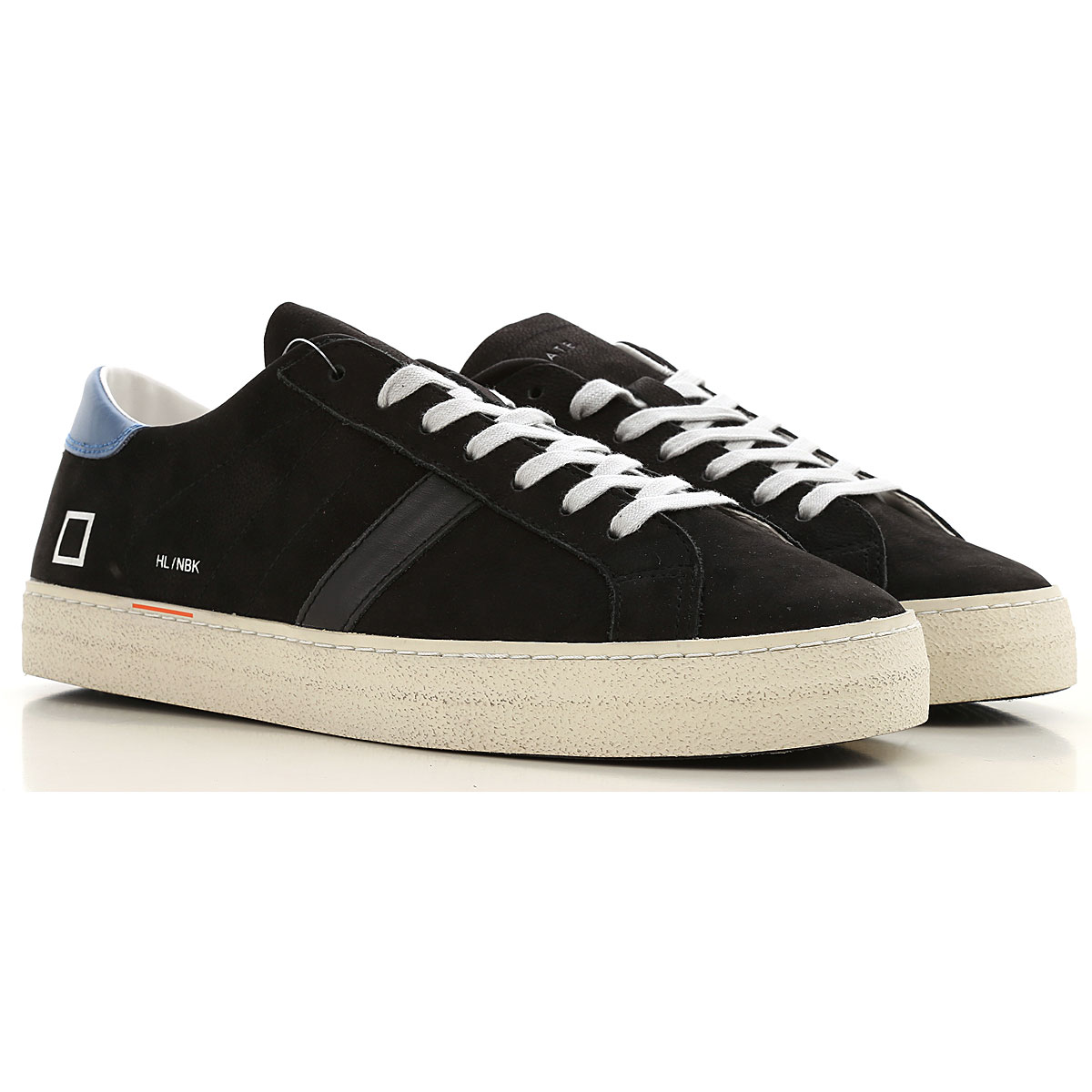 D.A.T.E. Sneakers for Men On Sale, Black, Leather, 2019, 8