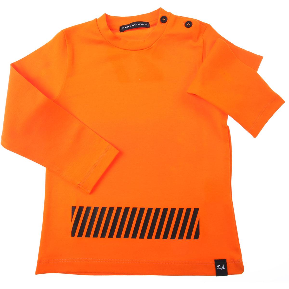 Daniele Alessandrini Baby T-Shirt for Boys On Sale, Bright Orange, Cotton, 2019, 12 M 18M 4Y 9M