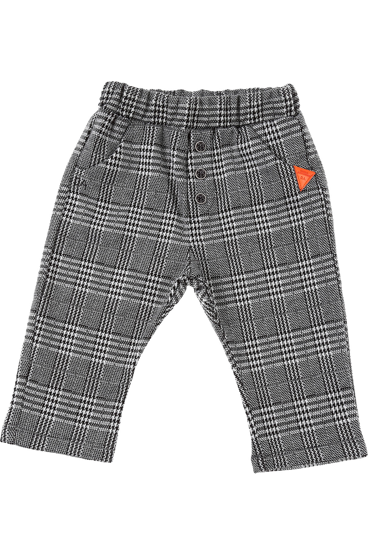Daniele Alessandrini Baby Pants for Boys On Sale, Black, polyester, 2019, 3Y 9 M