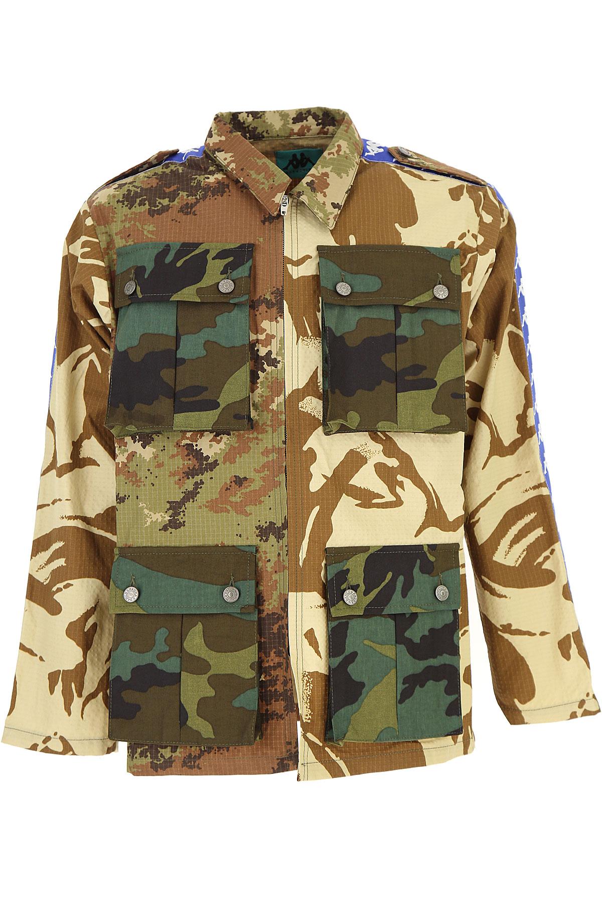 Danilo Paura Veste Homme, Kappa Collection, Camouflage, Coton, 2017, L M S