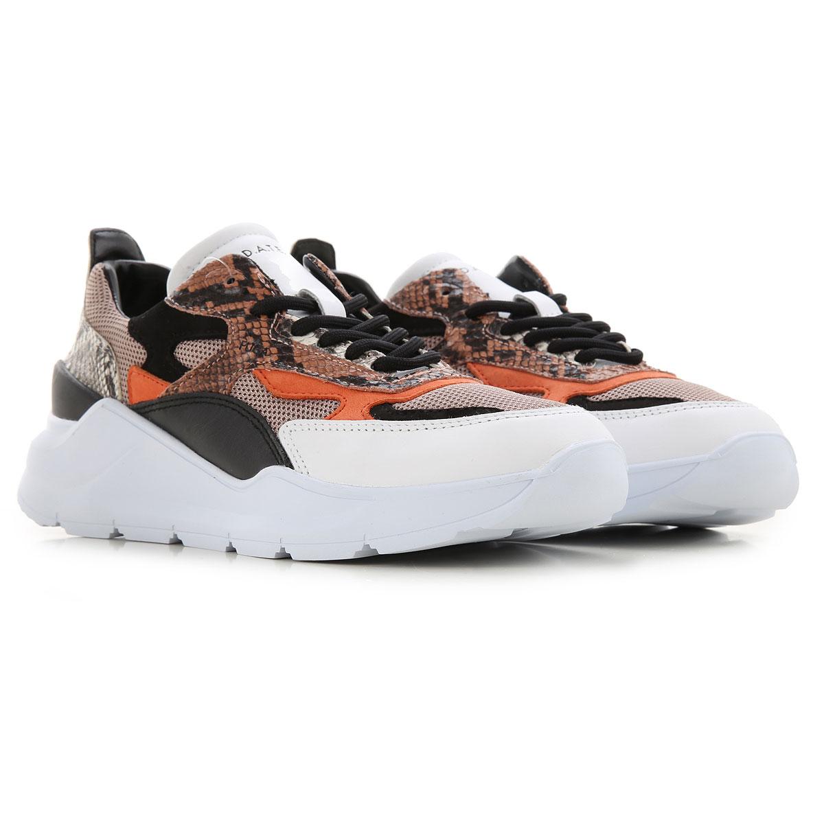 D.A.T.E. Sneakers for Women On Sale, python multicolor, Leather, 2019, US 6 - UK 3 5 - EU 36 - JP 22 5 US 7 5 - UK 5 - EU 38 - JP 24 US 9 - UK 6 5 - E