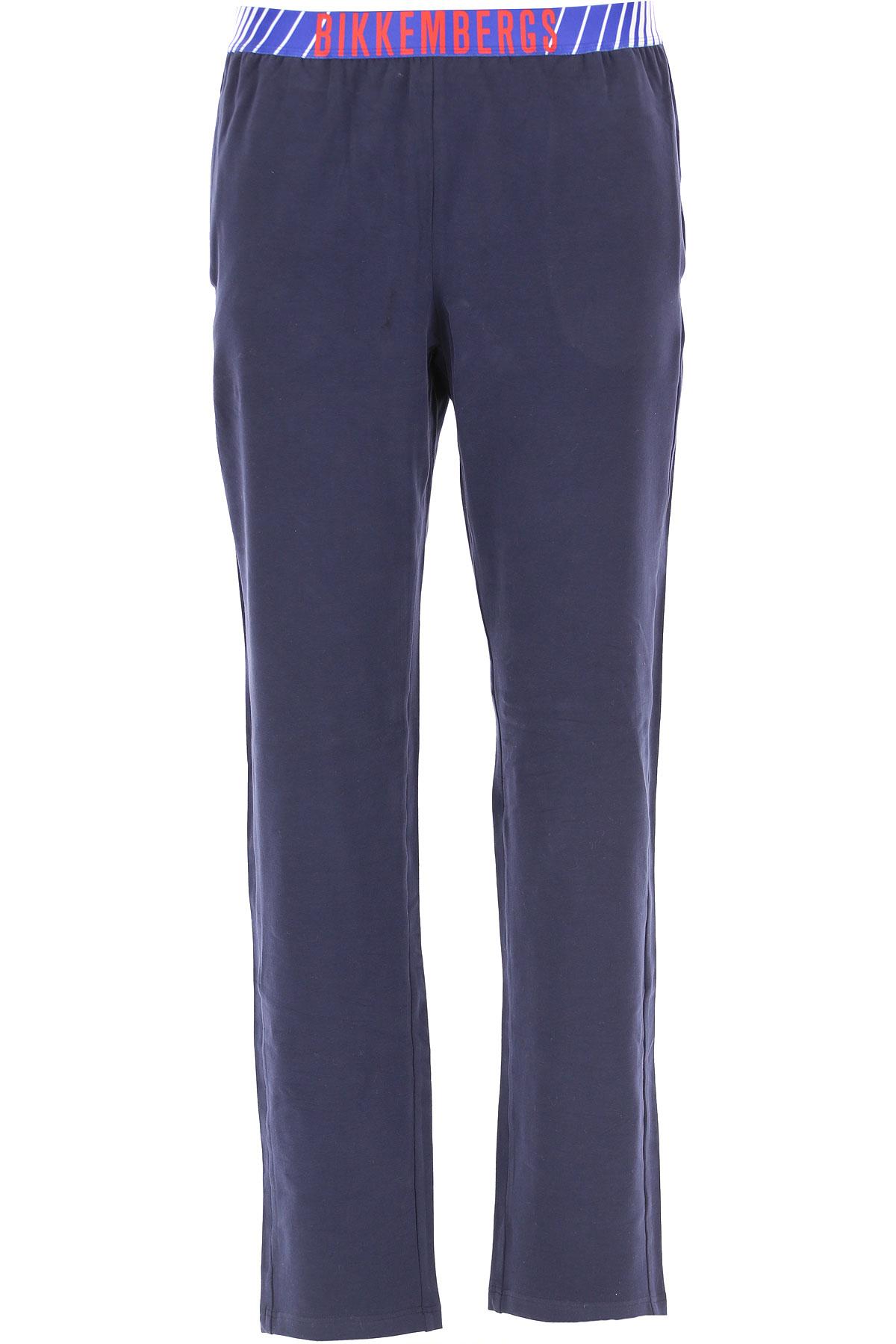 Dirk Bikkembergs Loungewear for Men On Sale, Blue, Cotton, 2019, S (EU 3) M (EU 4) L (EU 5)