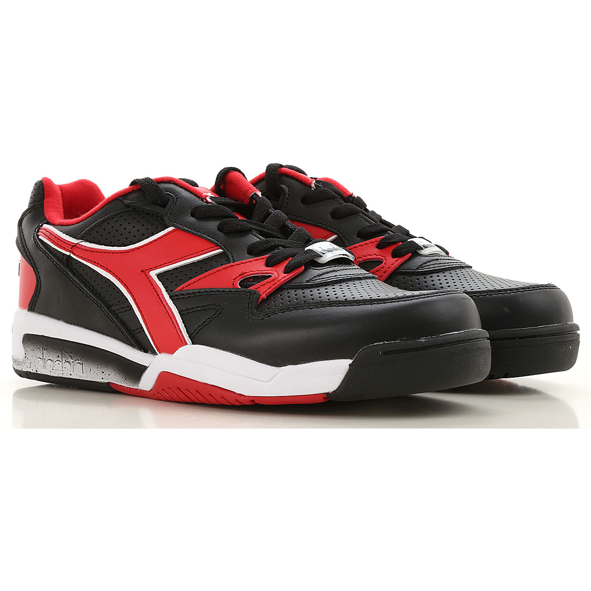 Diadora Sneakers for Men On Sale, Black, Leather, 2019, 7 9.5