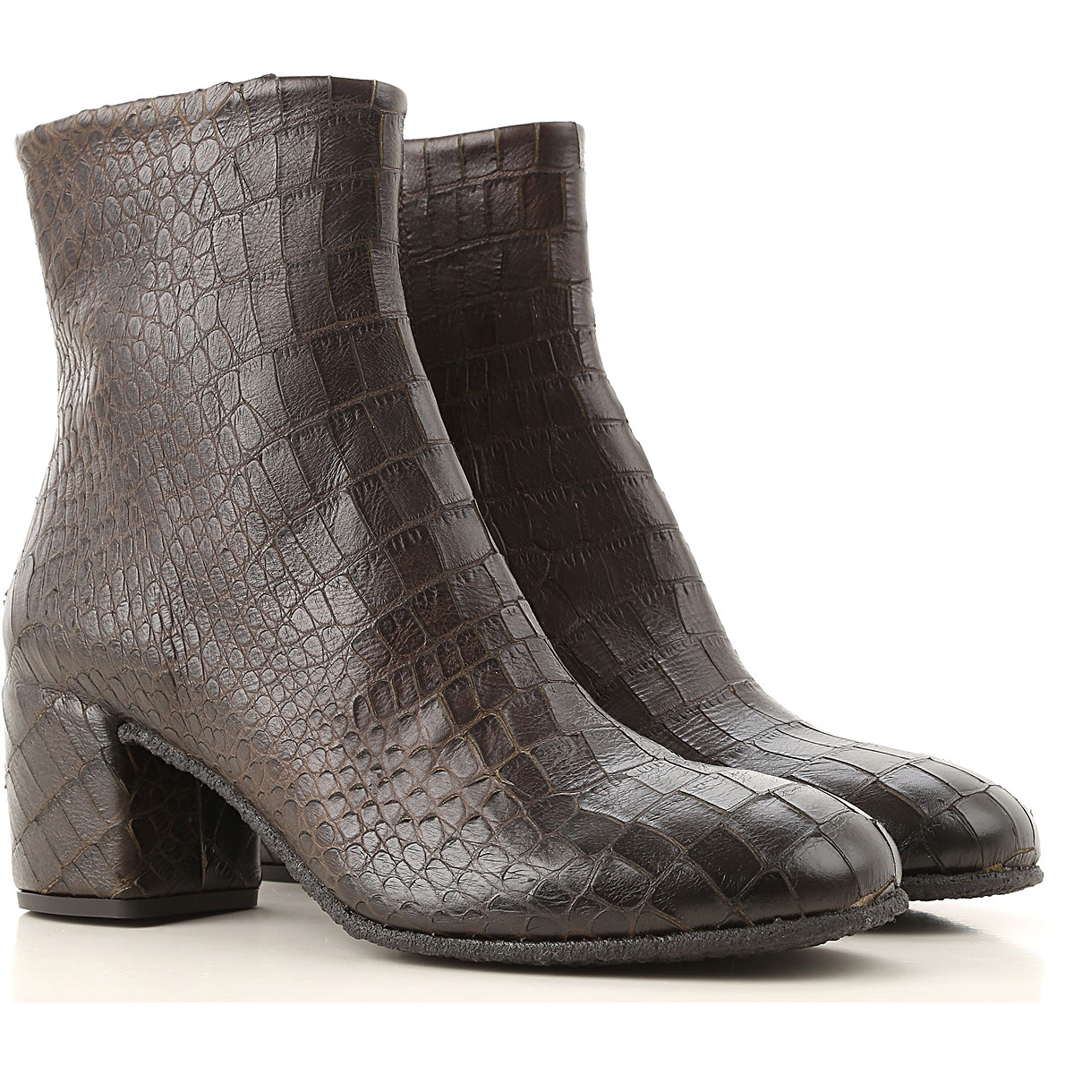 Roberto Del Carlo Boots for Women, Booties On Sale, Mud, Leather, 2019, 10 11 7 8 8.5 9