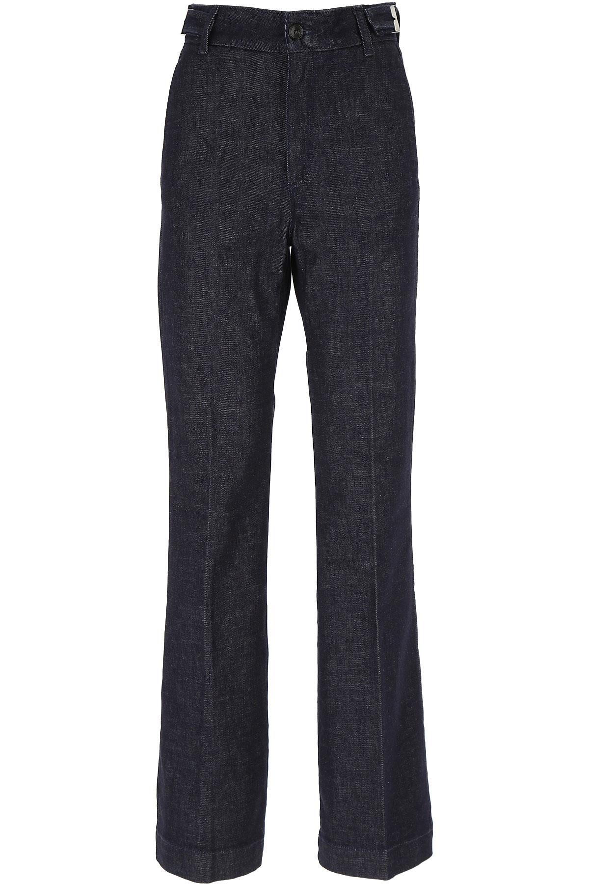 Department Five Jeans, Dark Blue Navy, Cotton, 2019, 26 27 29 30