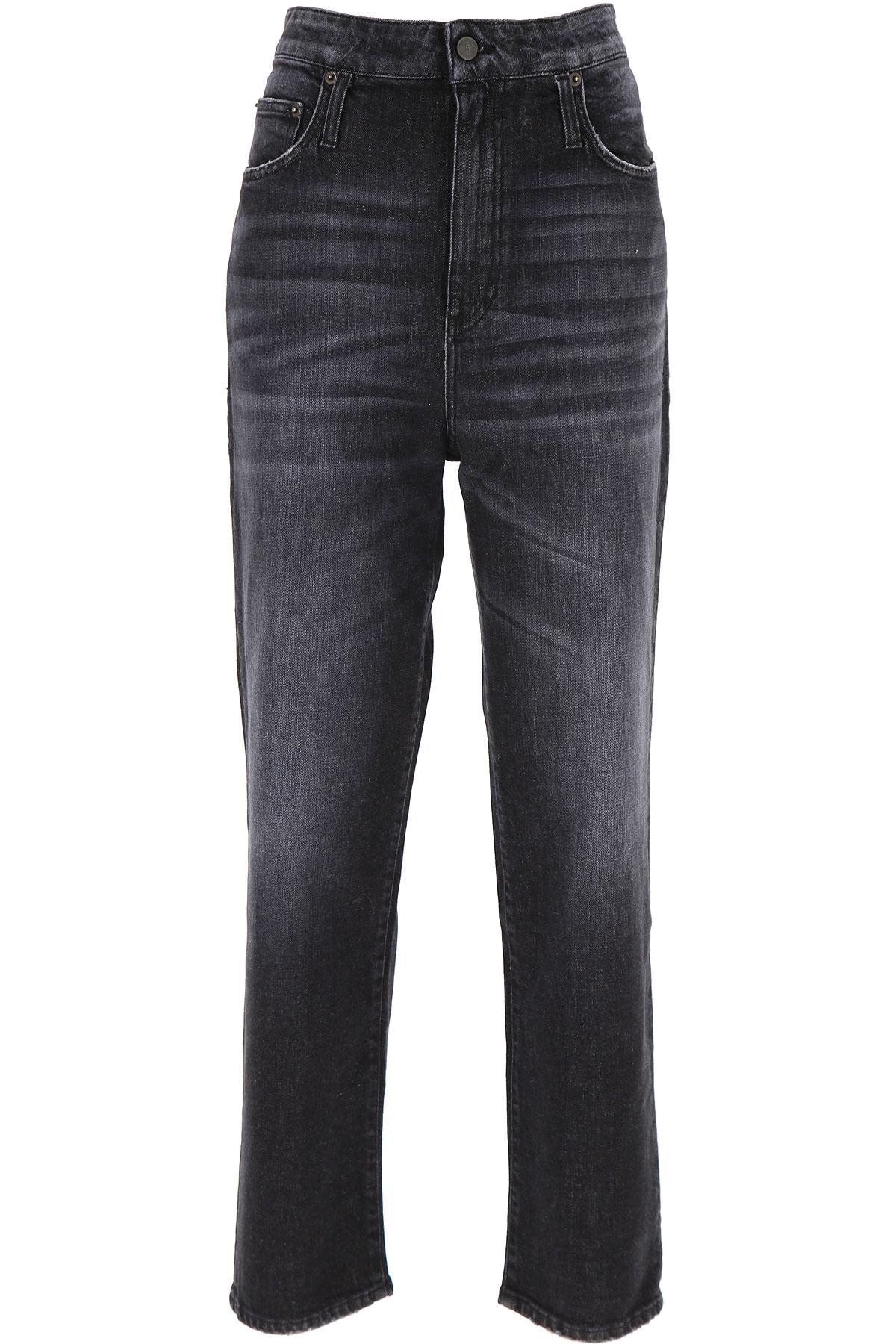 Department Five Jeans, Black, Cotton, 2019, 25 26 30