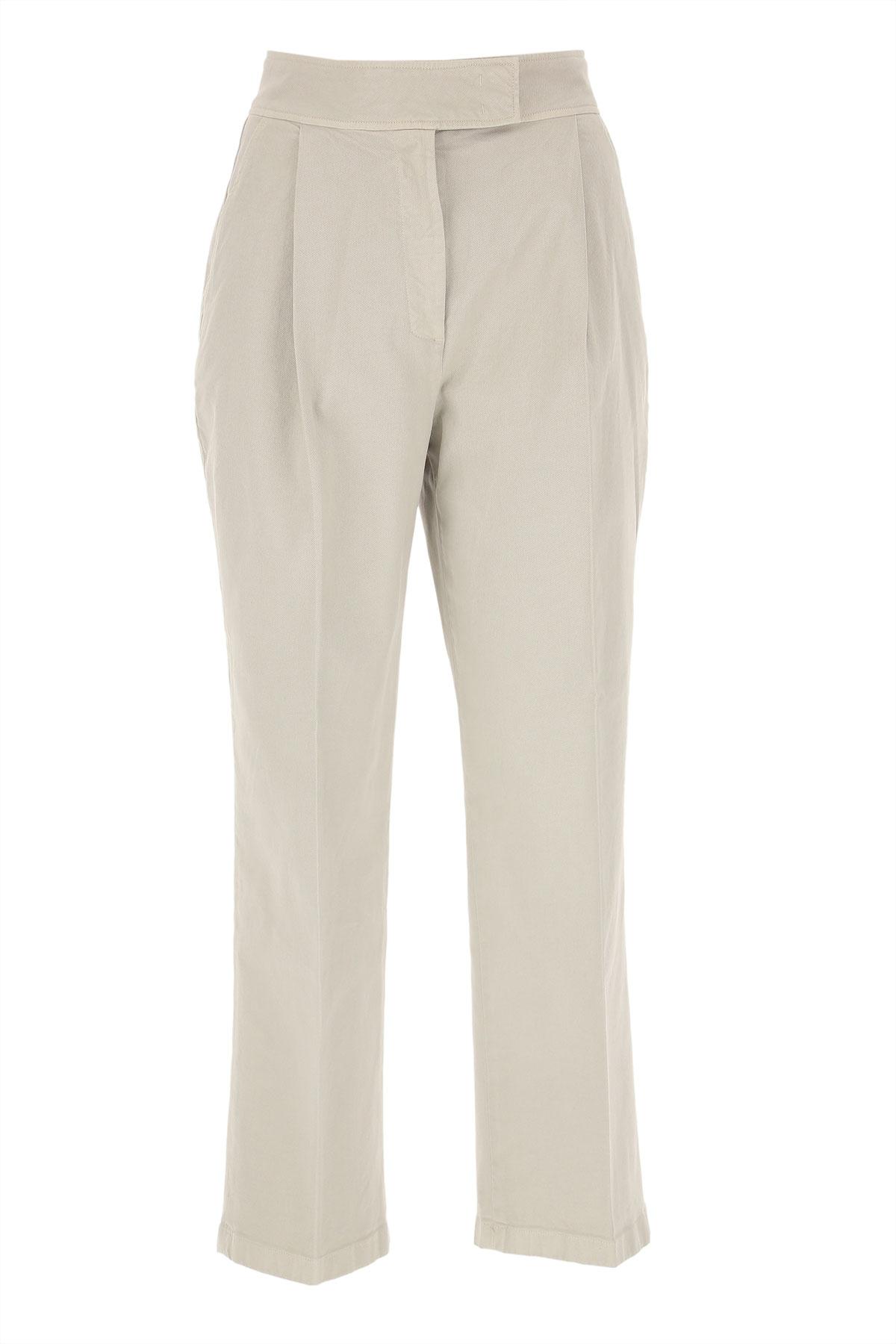Department Five Pants for Women, Chalk, Cotton, 2019, 25 26 27 28