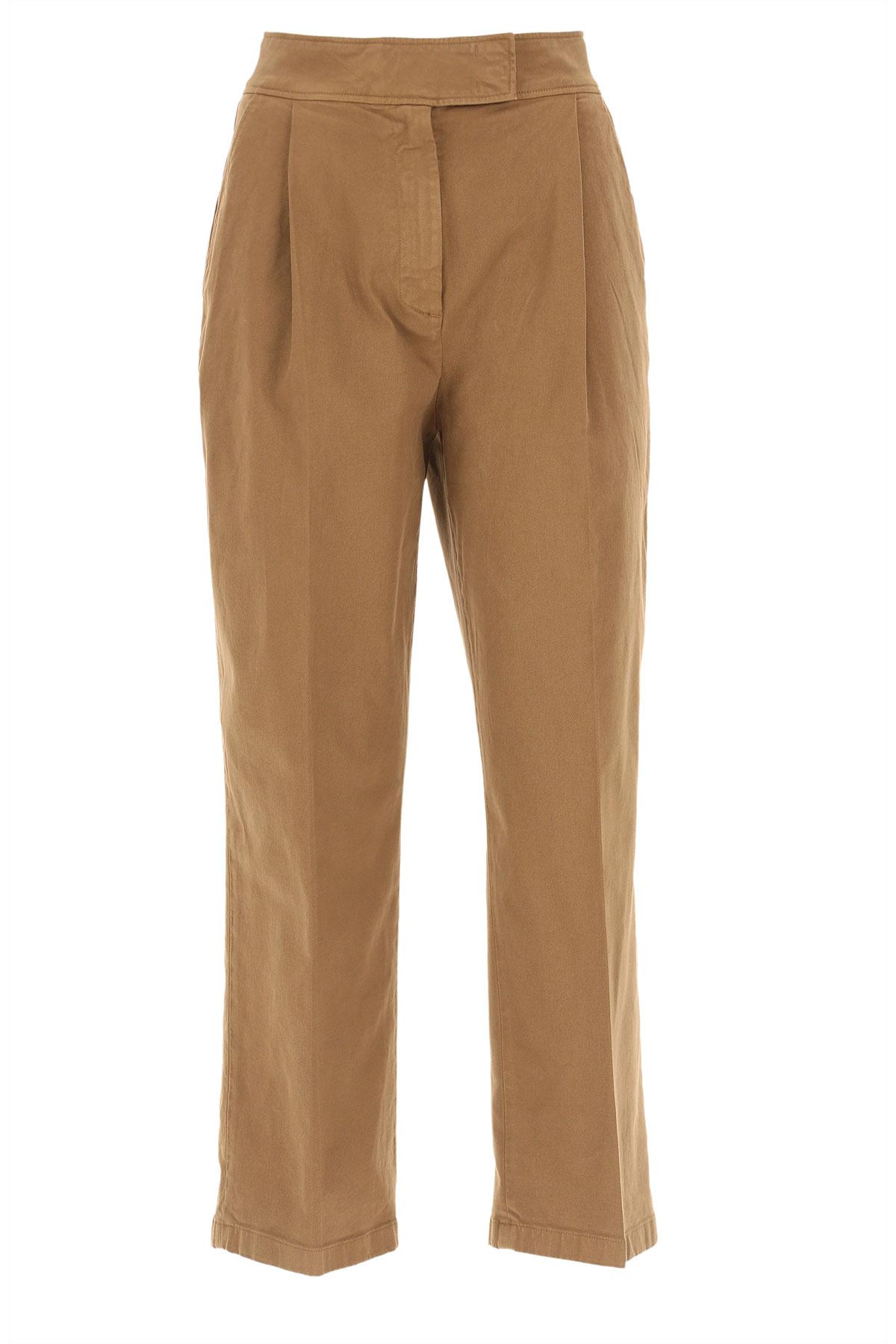 Department Five Pants for Women, nut, Cotton, 2019, 26 27 28
