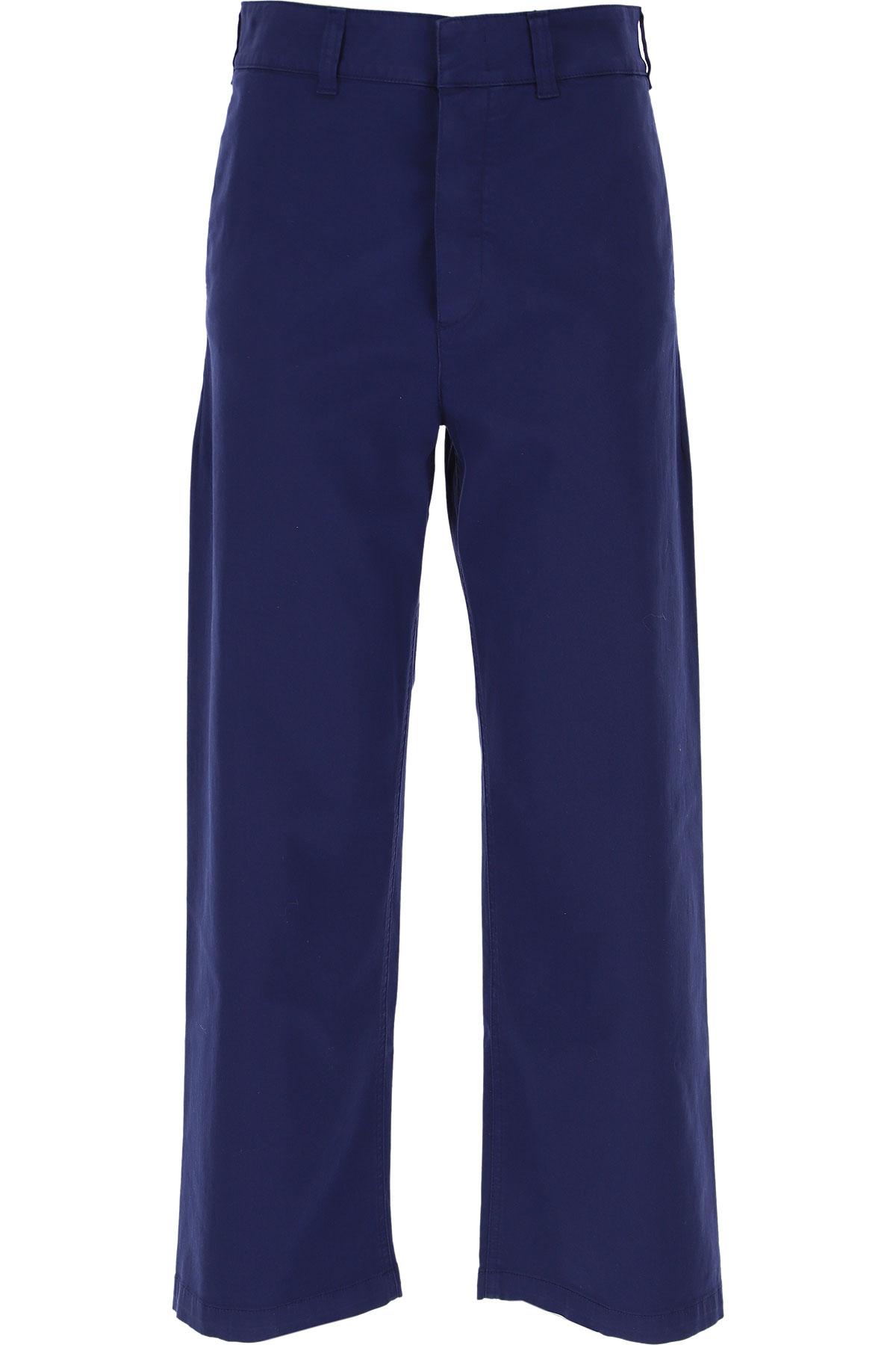 Department Five Pants for Women On Sale, Open Blue, Cotton, 2019, 26 28 30