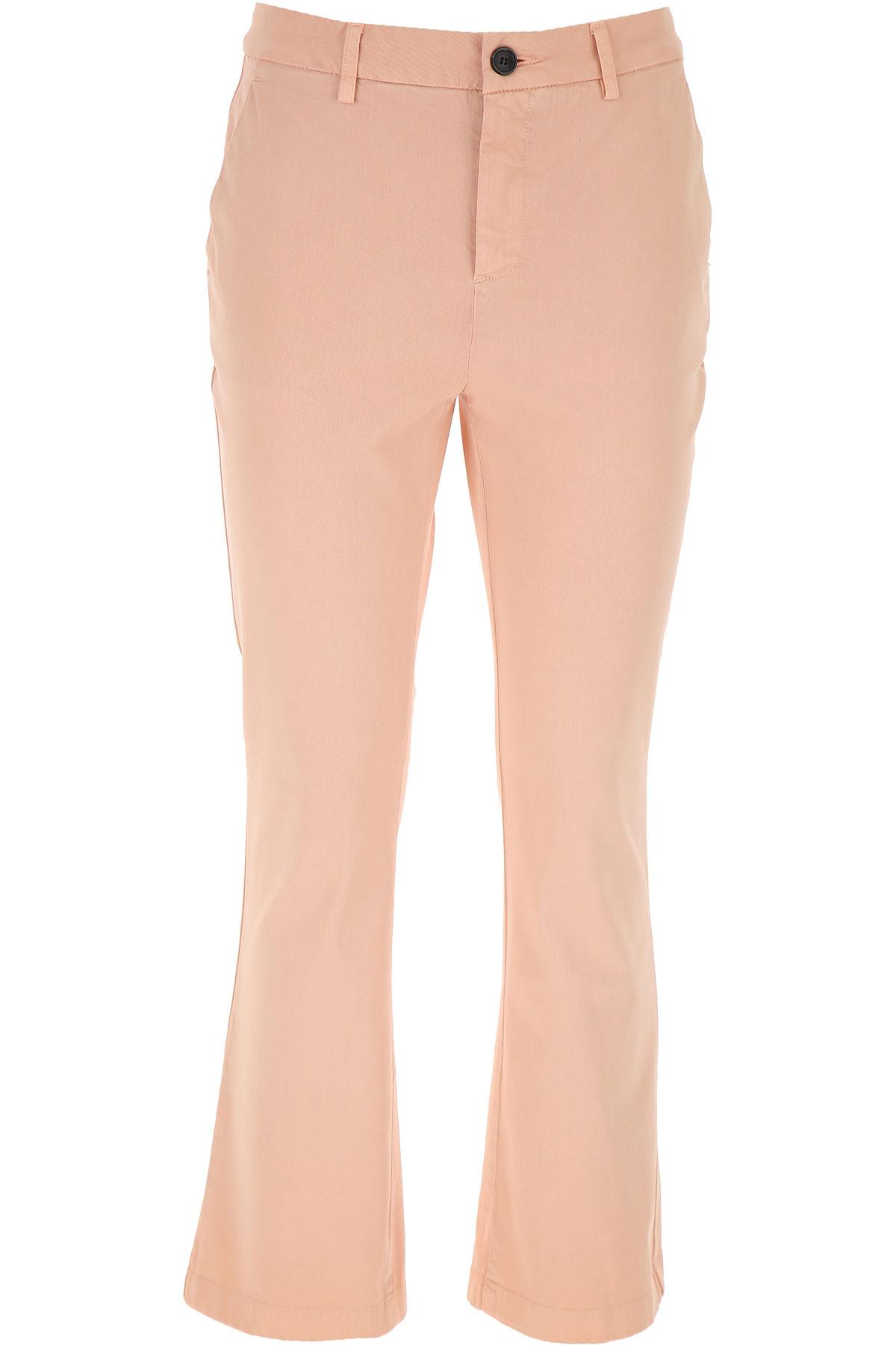 Department Five Pants for Women On Sale, Powder Pink, Cotton, 2019, 26 27 28 29 30