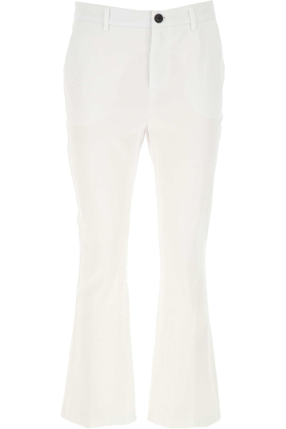 Department Five Pants for Women On Sale, White, Cotton, 2019, 26 27 28 29