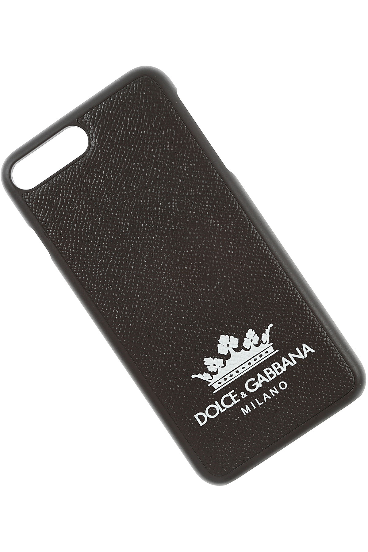 Image of Dolce & Gabbana iPhone Cases, I Phone Case 7 Plus, Black, Leather, 2017